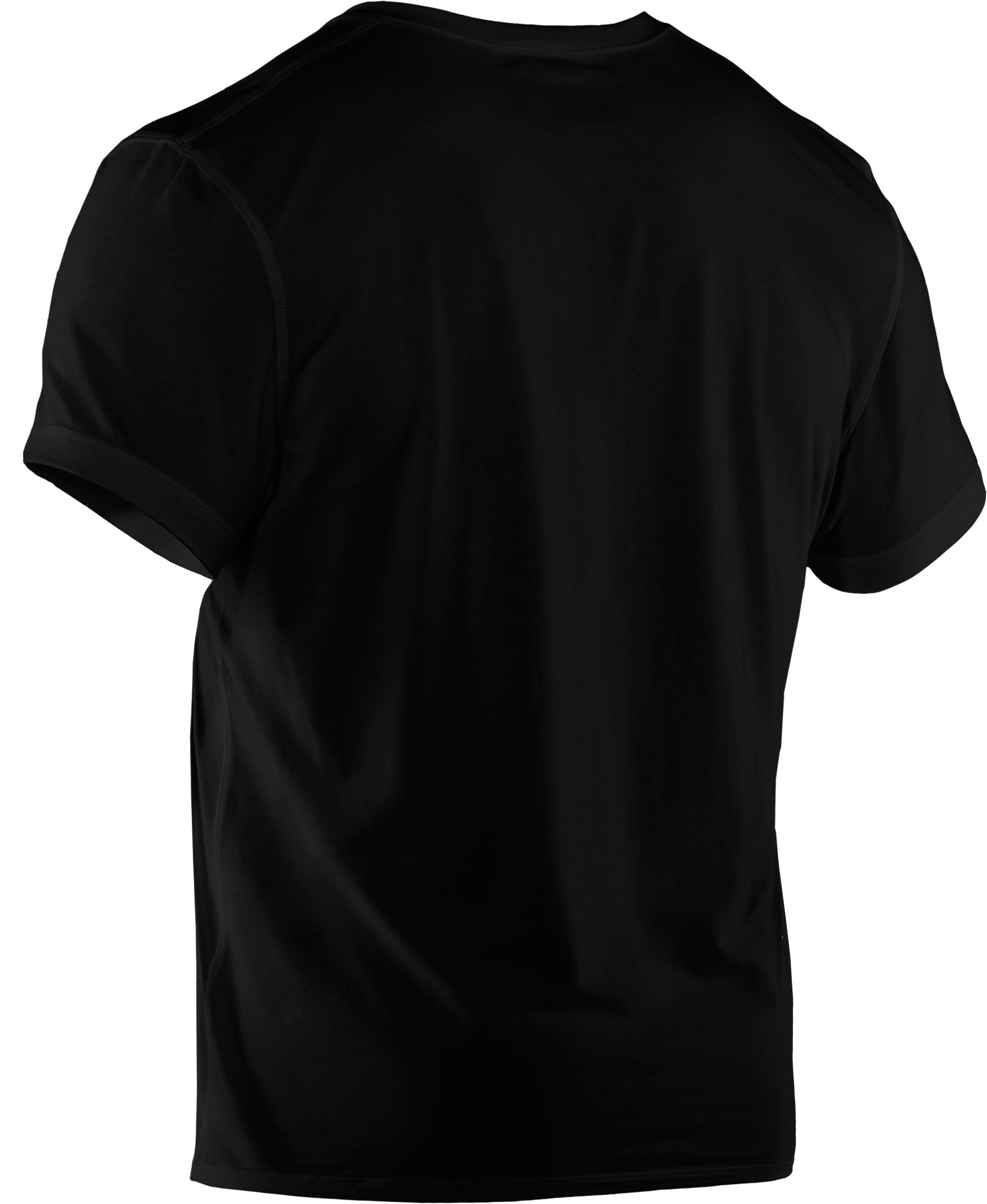 Men's Charged Cotton® Crew Undershirt, Black ,