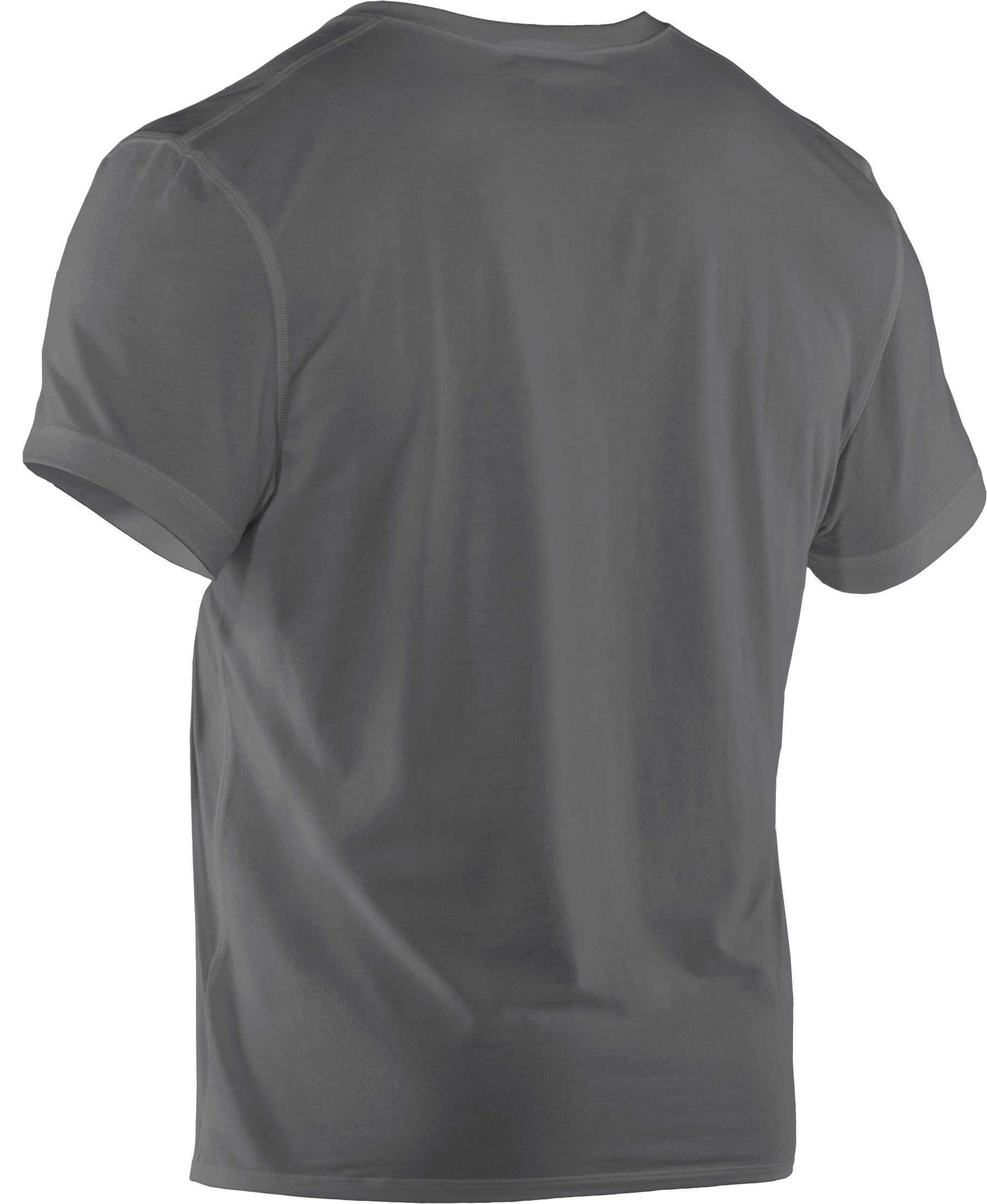 Men's Charged Cotton® Crew Undershirt, Graphite