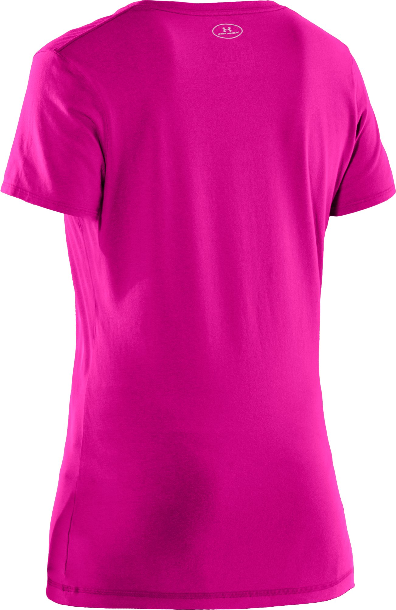 Women's Charged Cotton® Sassy Scoop T-Shirt, Tropic Pink, undefined