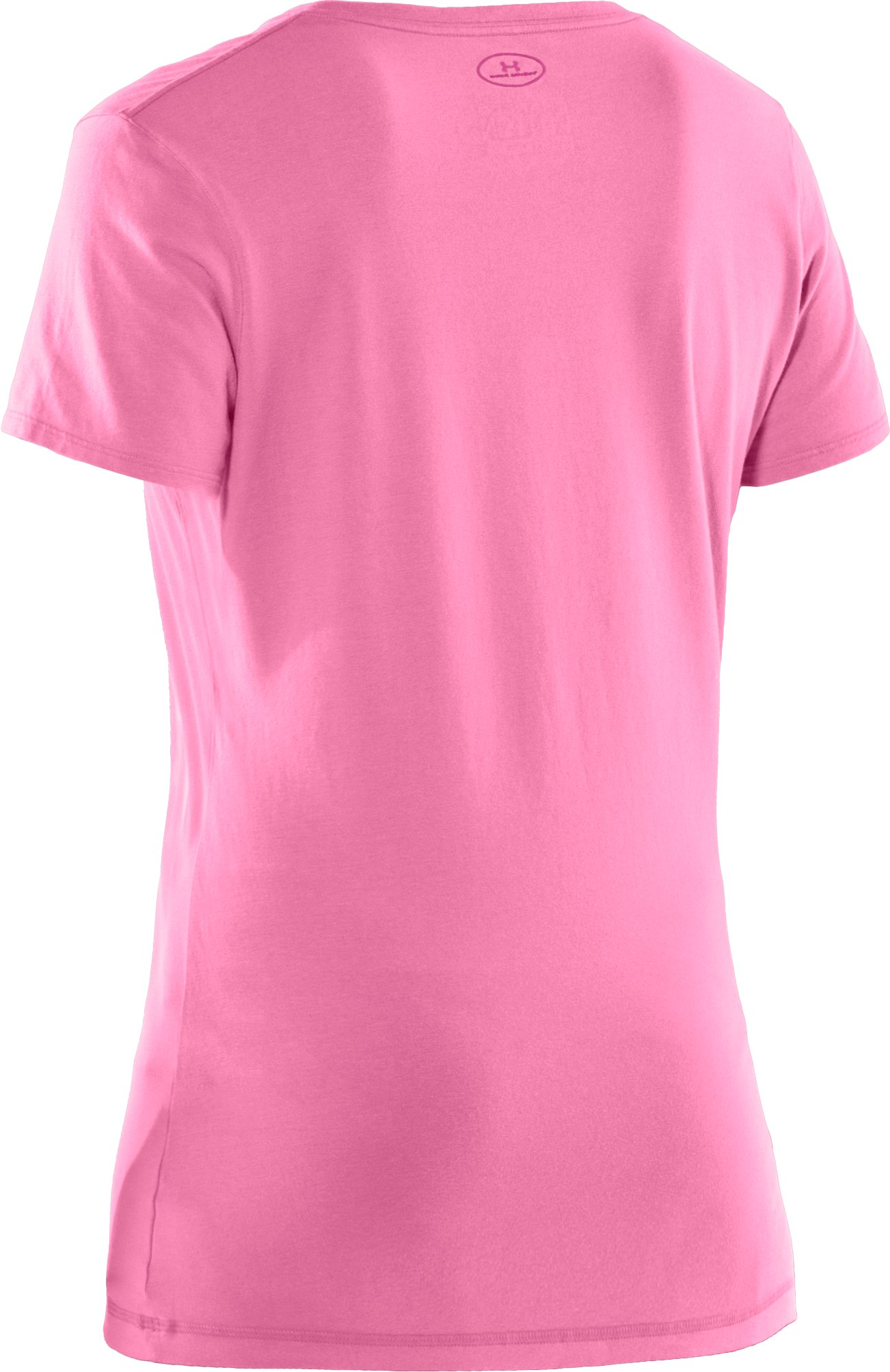 Women's Charged Cotton® Sassy Scoop T-Shirt, Fluo Pink
