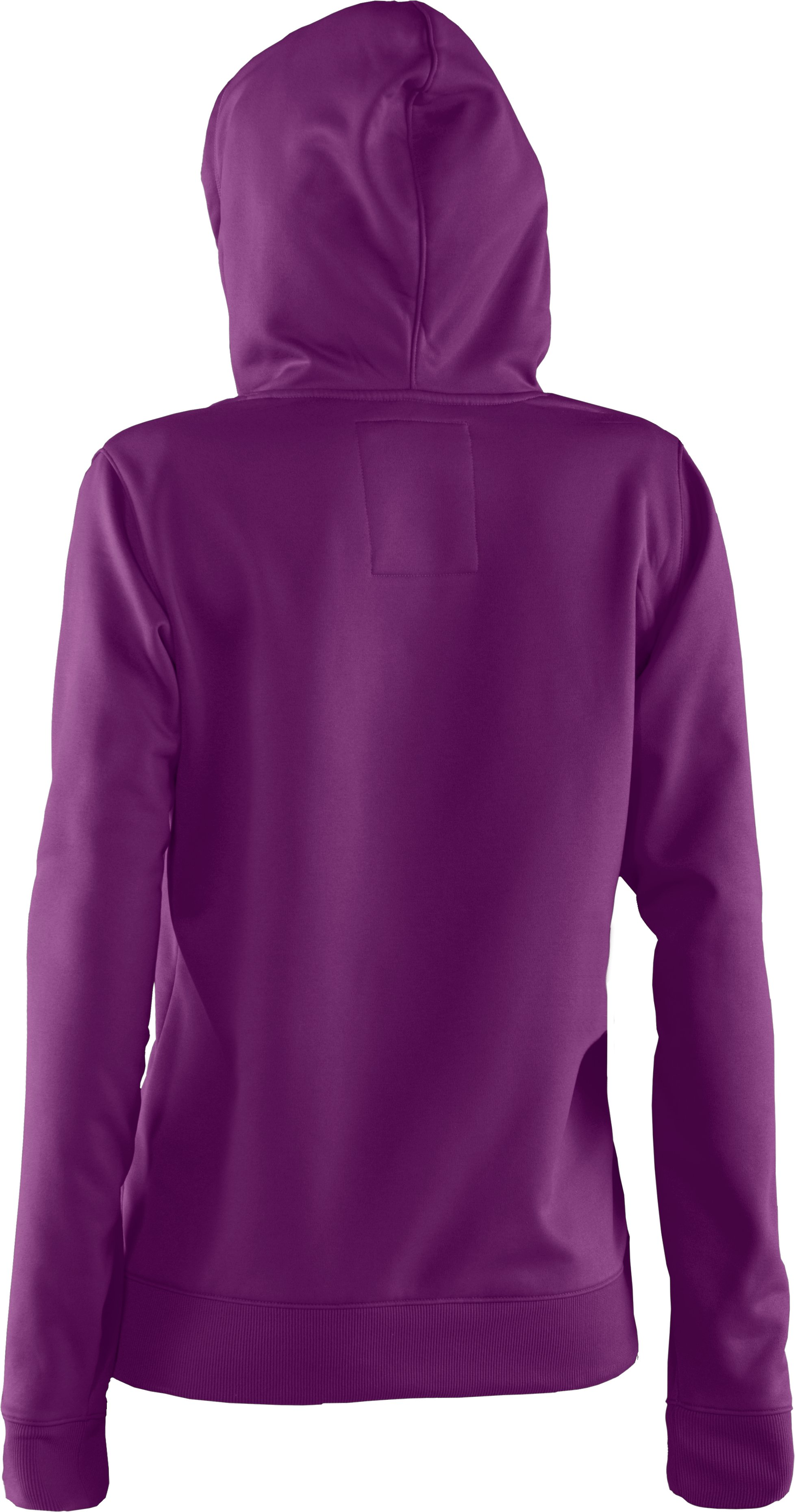 Women's Armour Fleece® Storm Big Logo Intensity Hoodie, Cassis