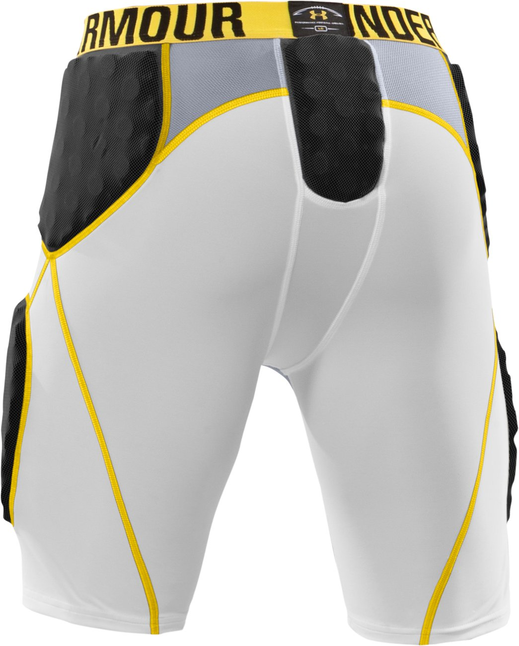 Men's MPZ® 5-Pad Armour® Girdle, White