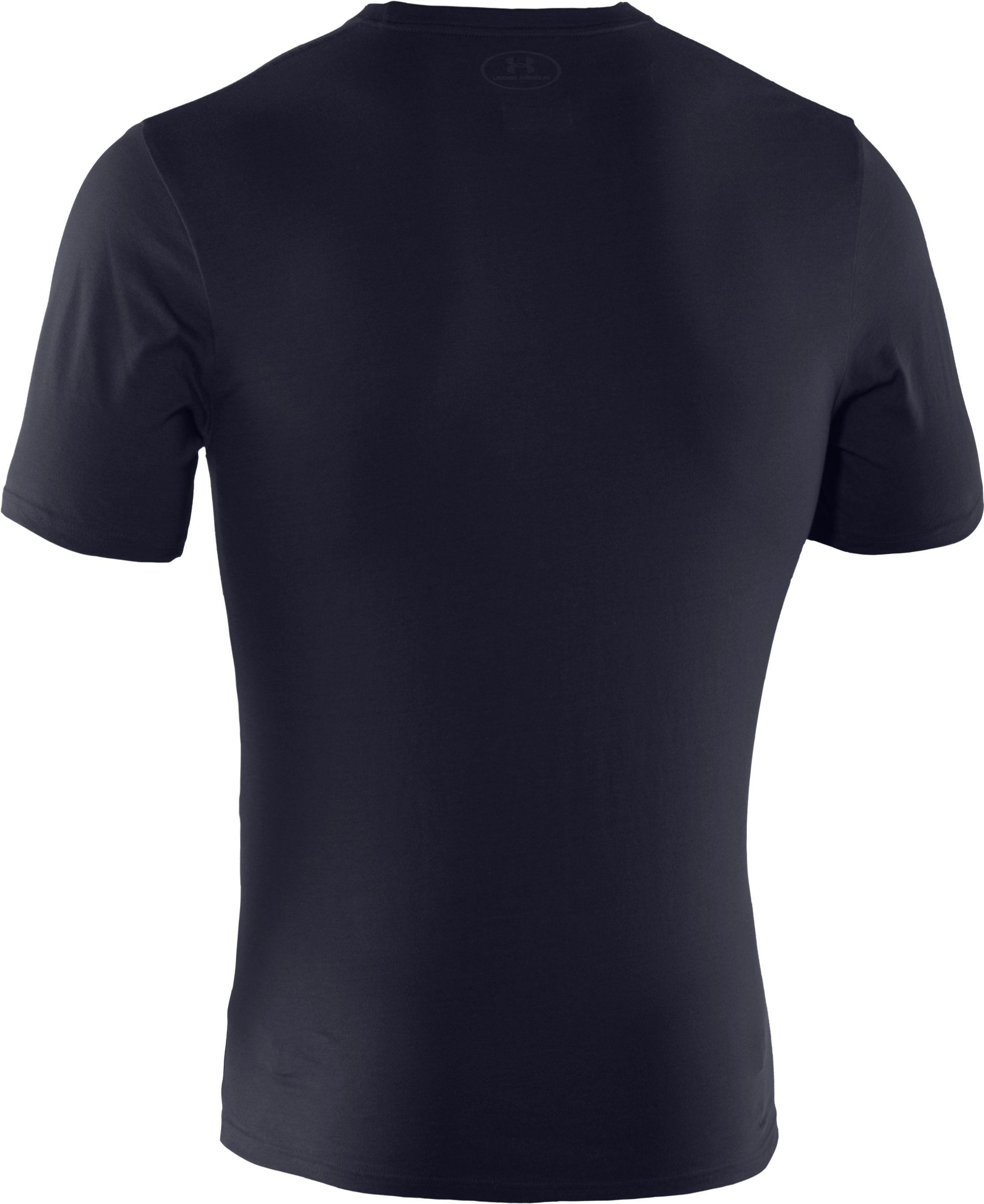 Men's UA Tactical Charged Cotton® T-Shirt, Dark Navy Blue