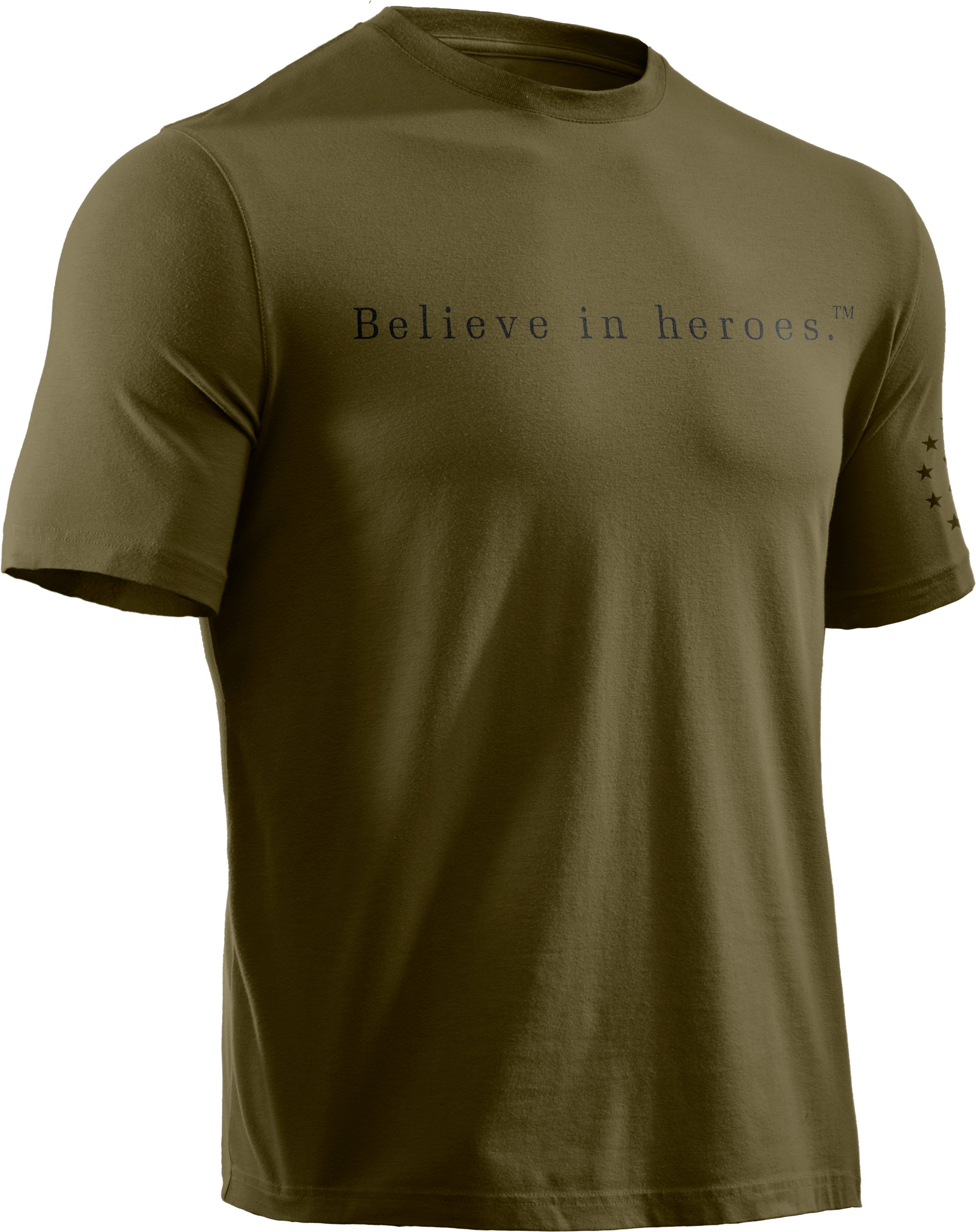 Men's UA WWP BIH T-Shirt, Marine OD Green