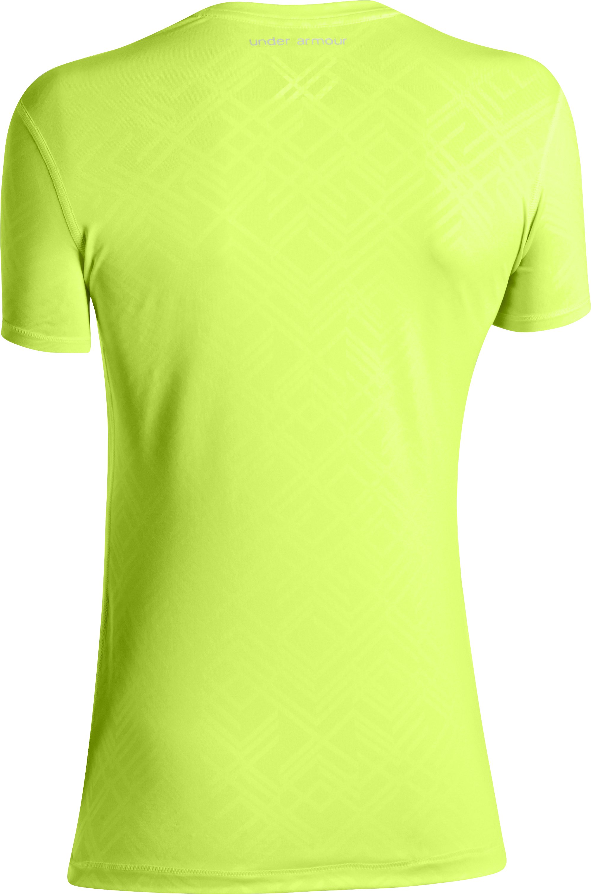 Women's HeatGear® Sonic Printed Short Sleeve, X-Ray, undefined