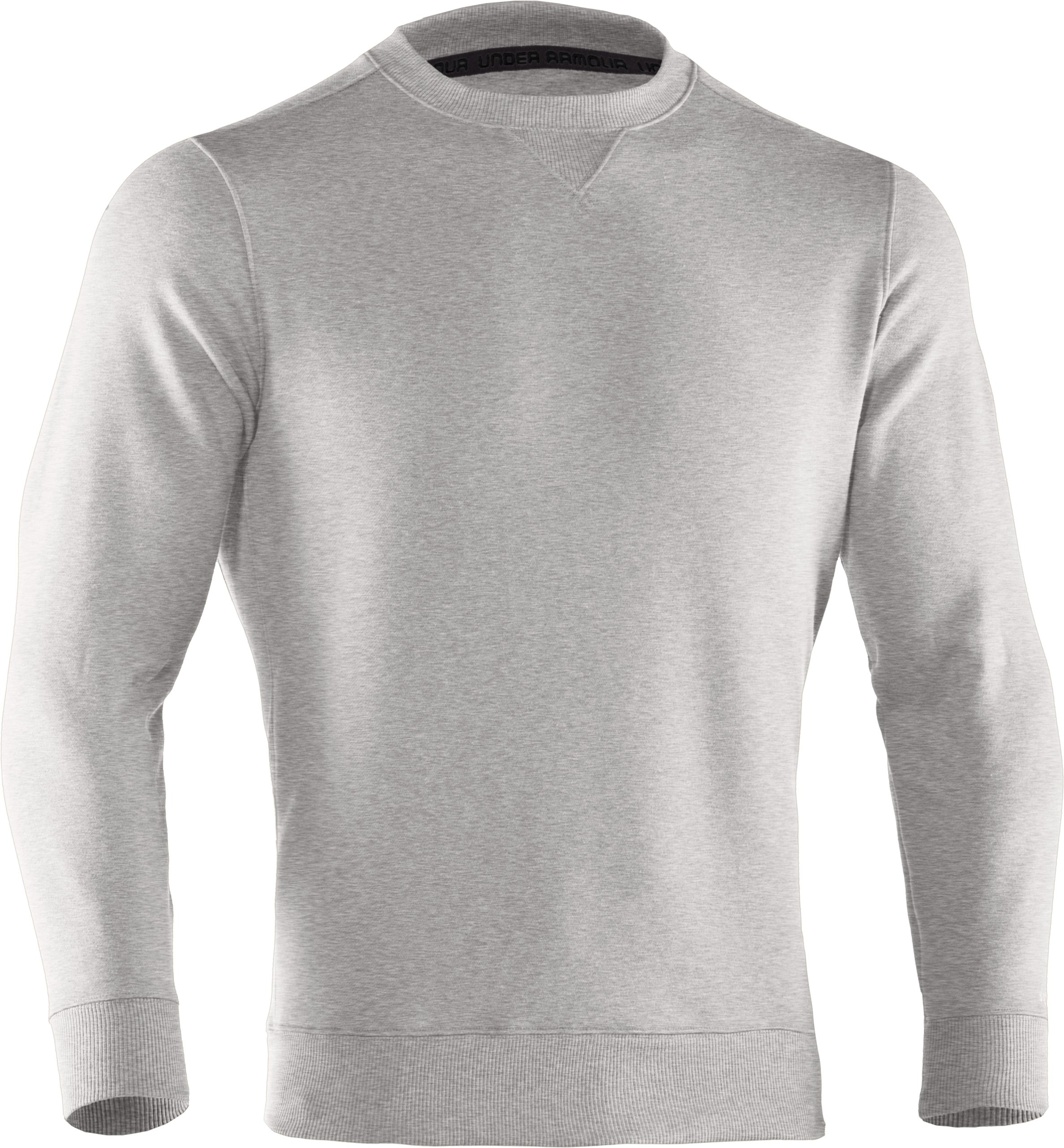 Men's Charged Cotton® Storm Crew, Silver Heather