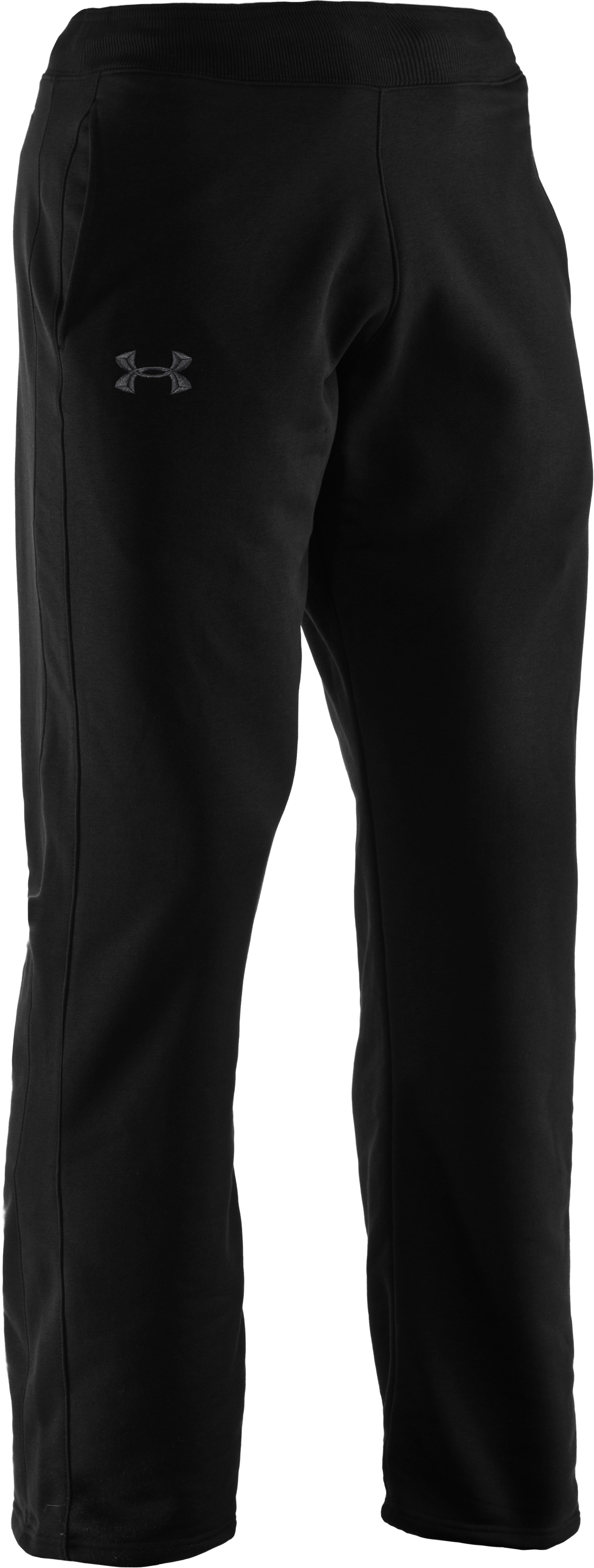 Men's Charged Cotton® Storm Pants, Black , undefined
