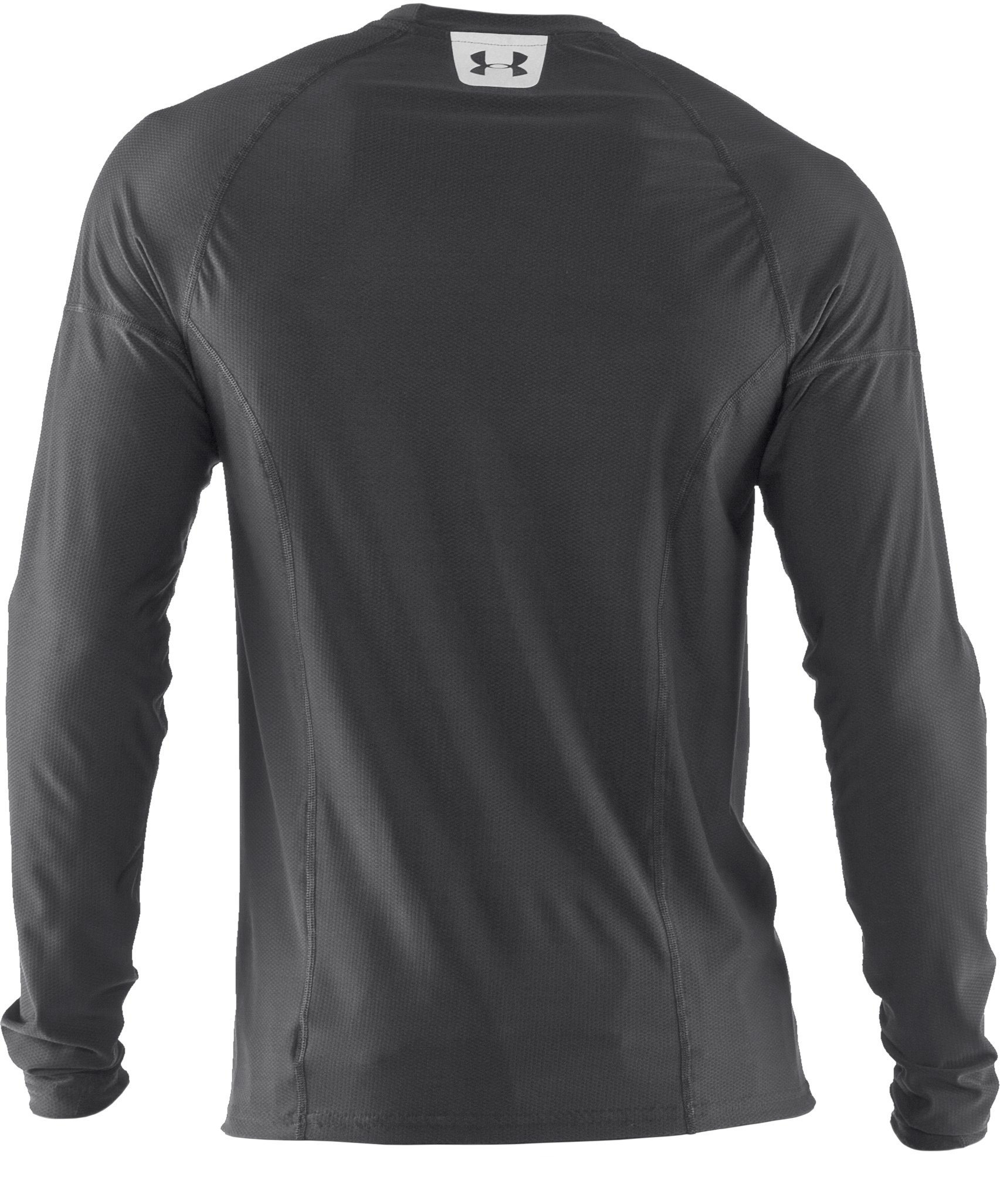 Men's UA Project Run Fitted Long Sleeve T-Shirt, Graphite,