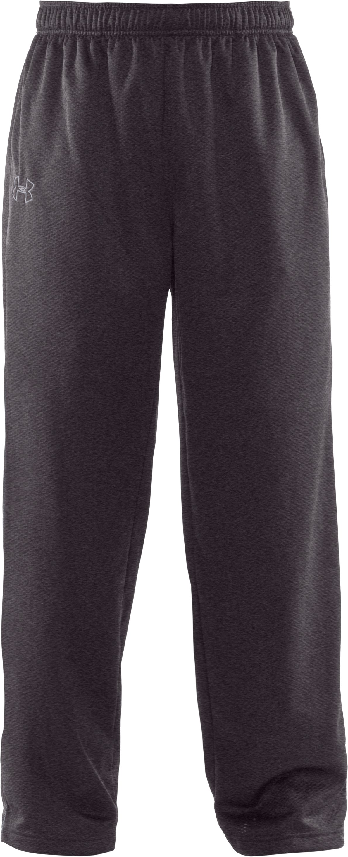 "Men's UA Tech™ Fleece 32"" Pants, Carbon Heather,"