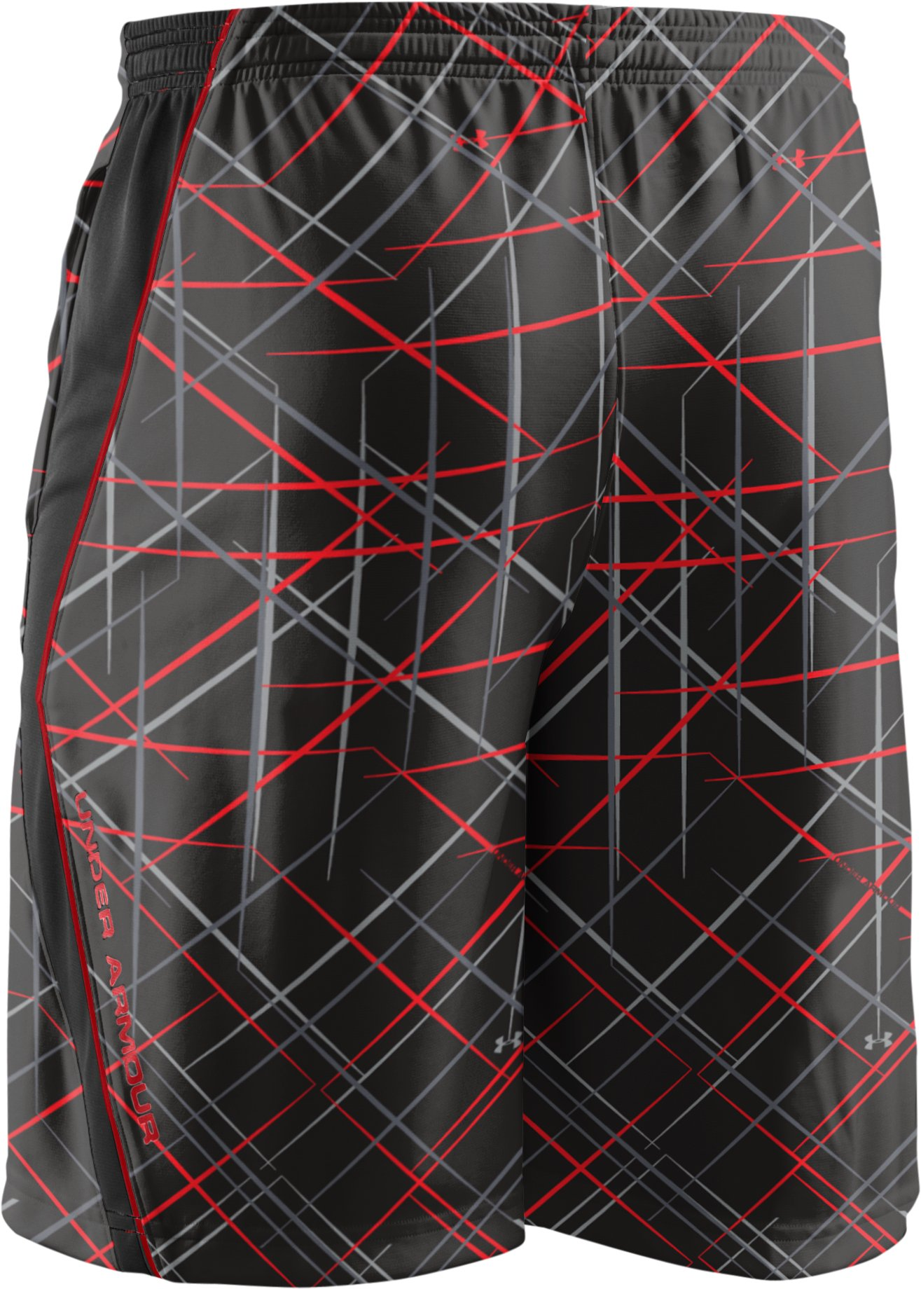 "Men's UA Multiplier Printed 10"" Shorts, Black"