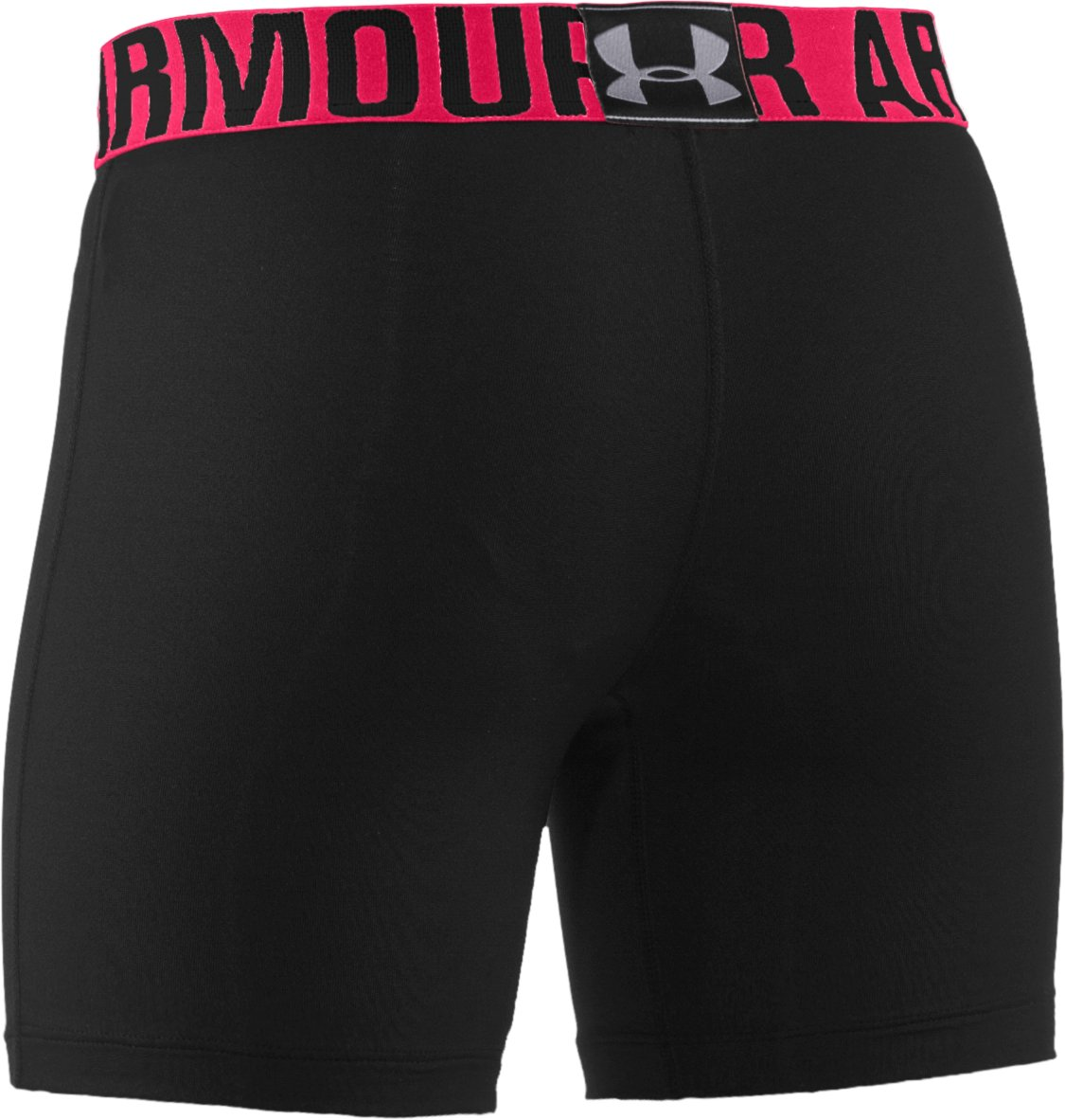 "Girls' UA Sonic 5"" Fitted Shorts, Black , undefined"