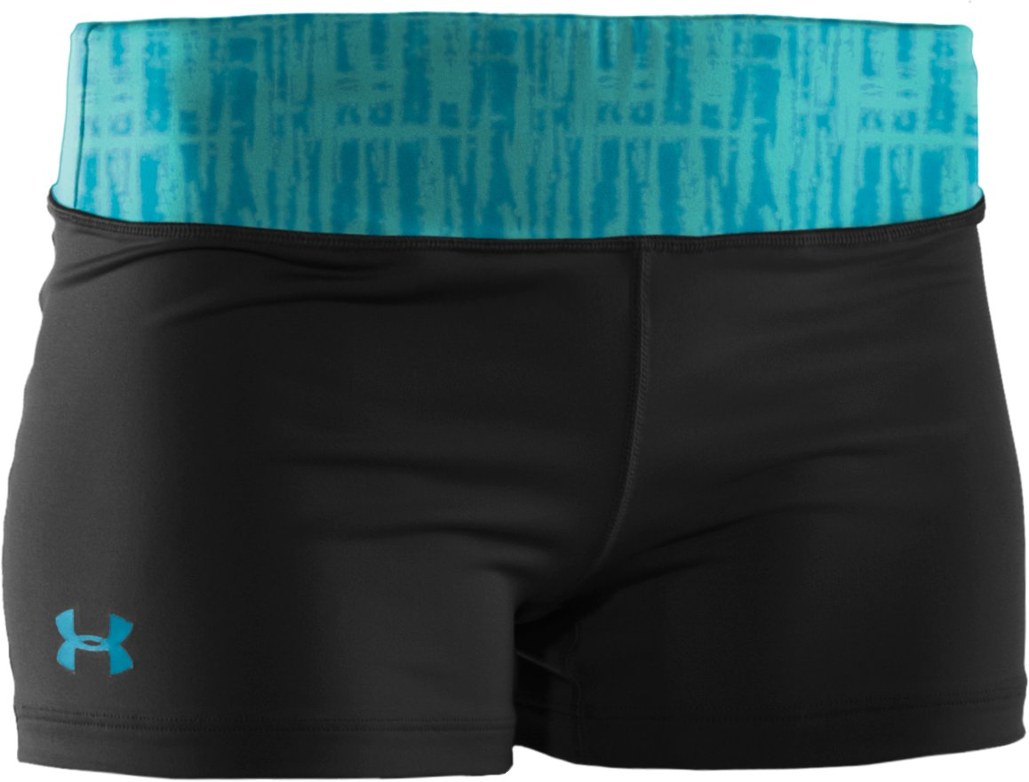 "Women's HeatGear® Sonic 2.5"" Shorty, Black , undefined"