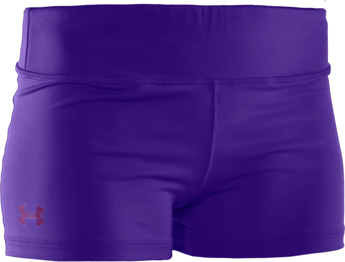 "Women's HeatGear® Sonic 2.5"" Shorty, Pluto"