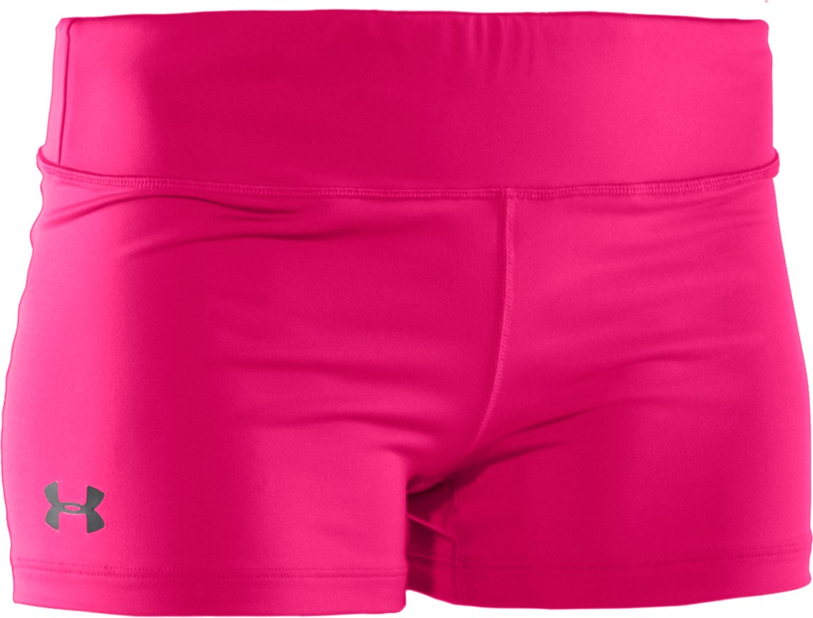 "Women's HeatGear® Sonic 2.5"" Shorty, Cerise"