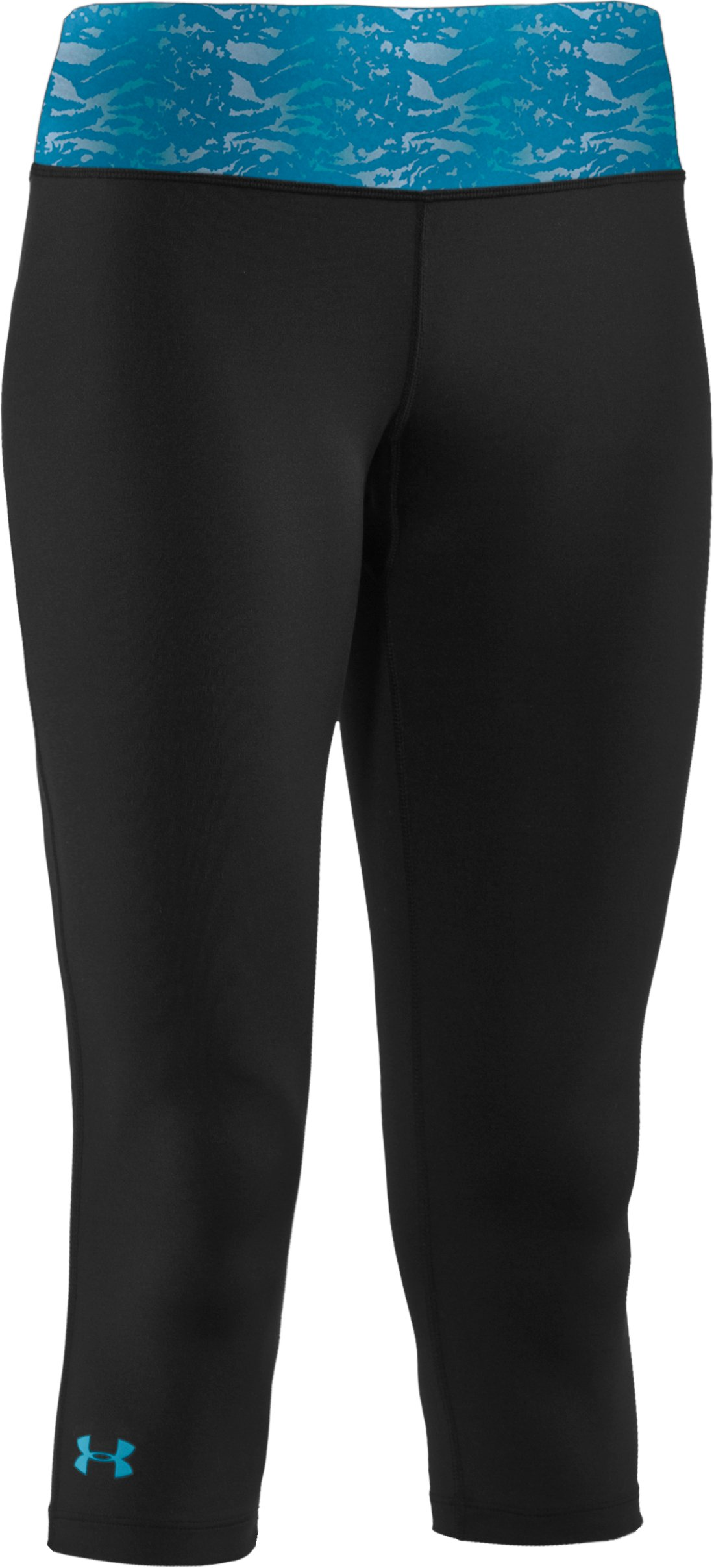 "Women's UA Sonic 17"" Capri, Black , undefined"