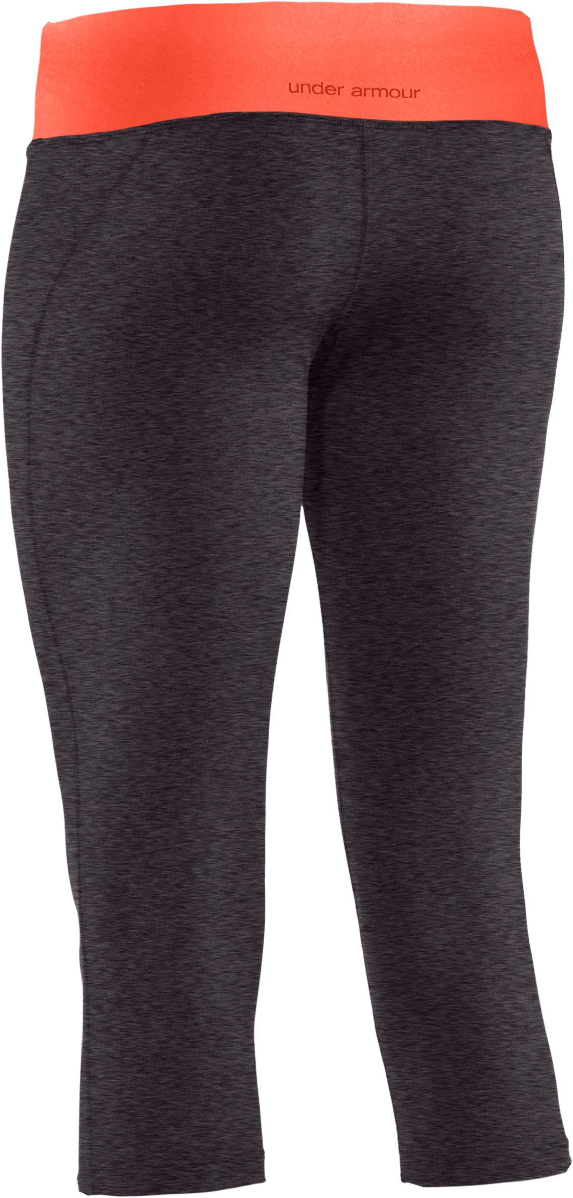 "Women's UA Sonic 17"" Capri, Carbon Heather"