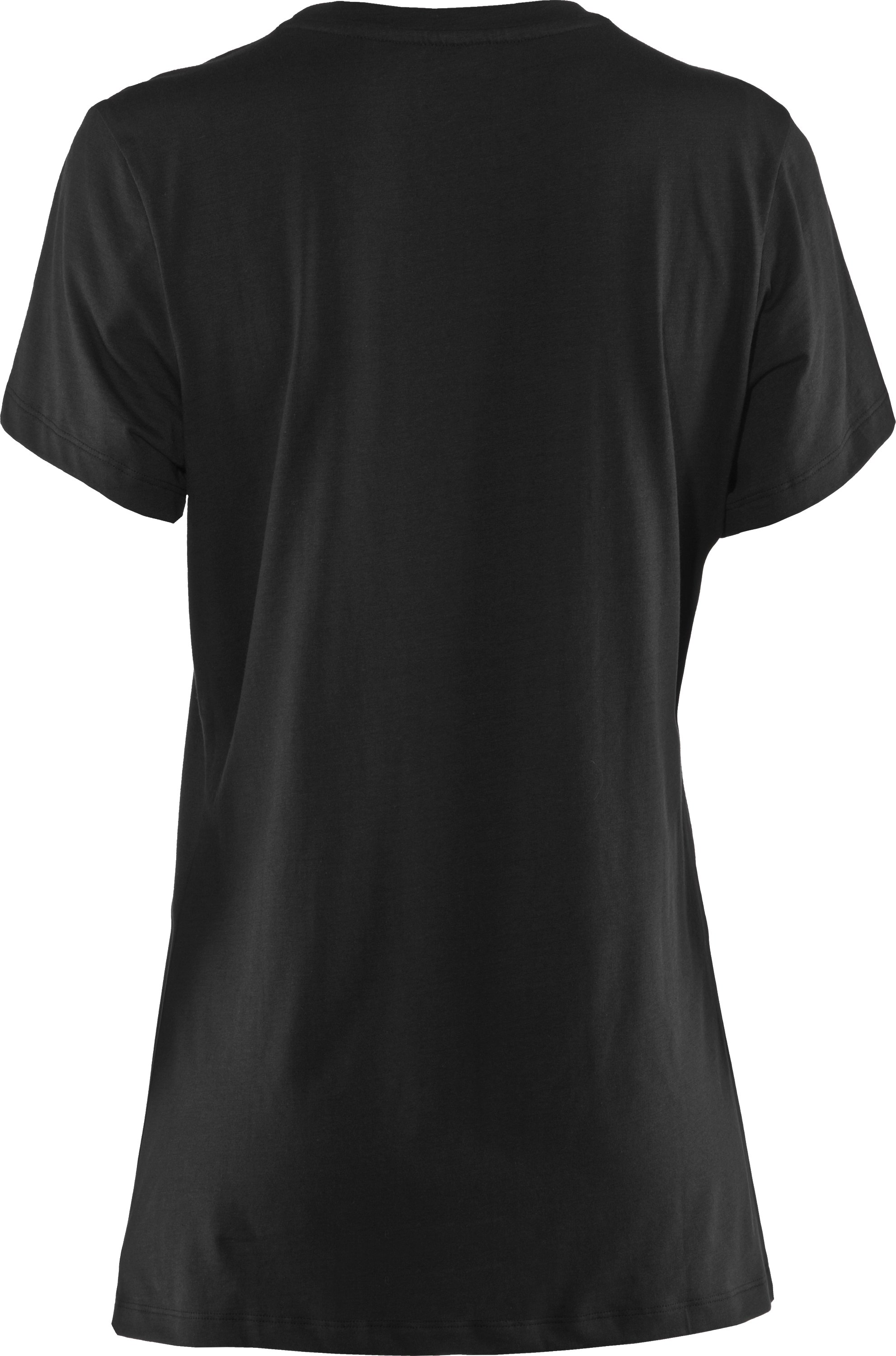 Women's UA Tactical Charged Cotton® T-Shirt, Black , undefined