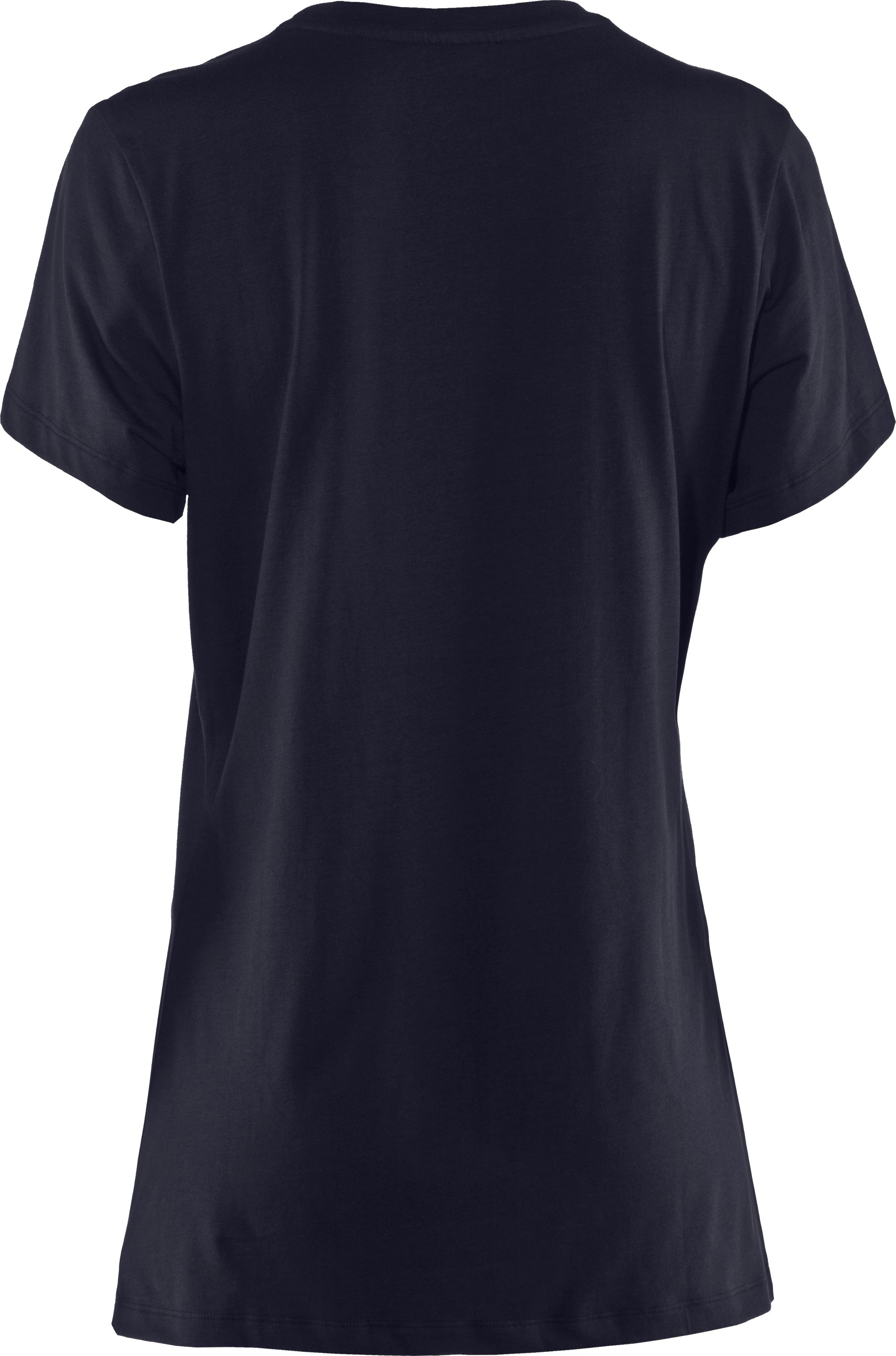 Women's UA Tactical Charged Cotton® T-Shirt, Dark Navy Blue ,