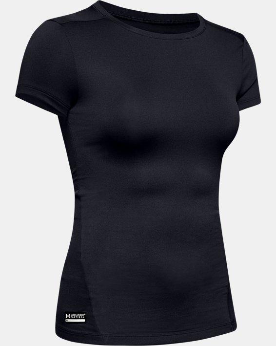 Women's UA Tactical HeatGear® Compression T, Black, pdpMainDesktop image number 8