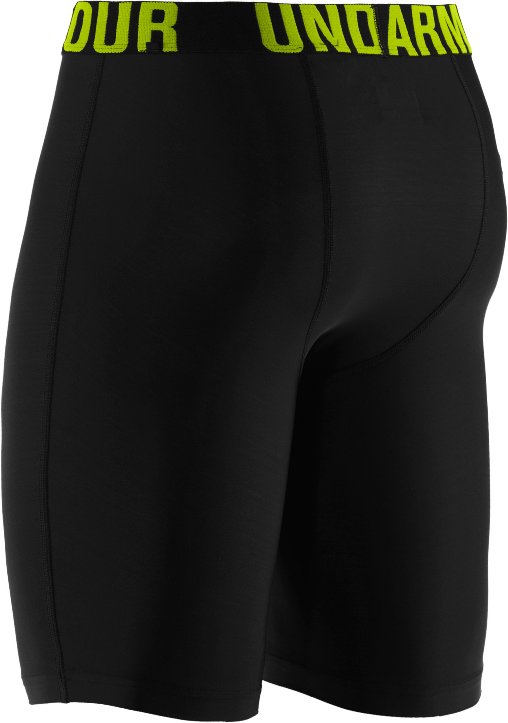 Men's UA Keewaydin Compression Shorts, Black