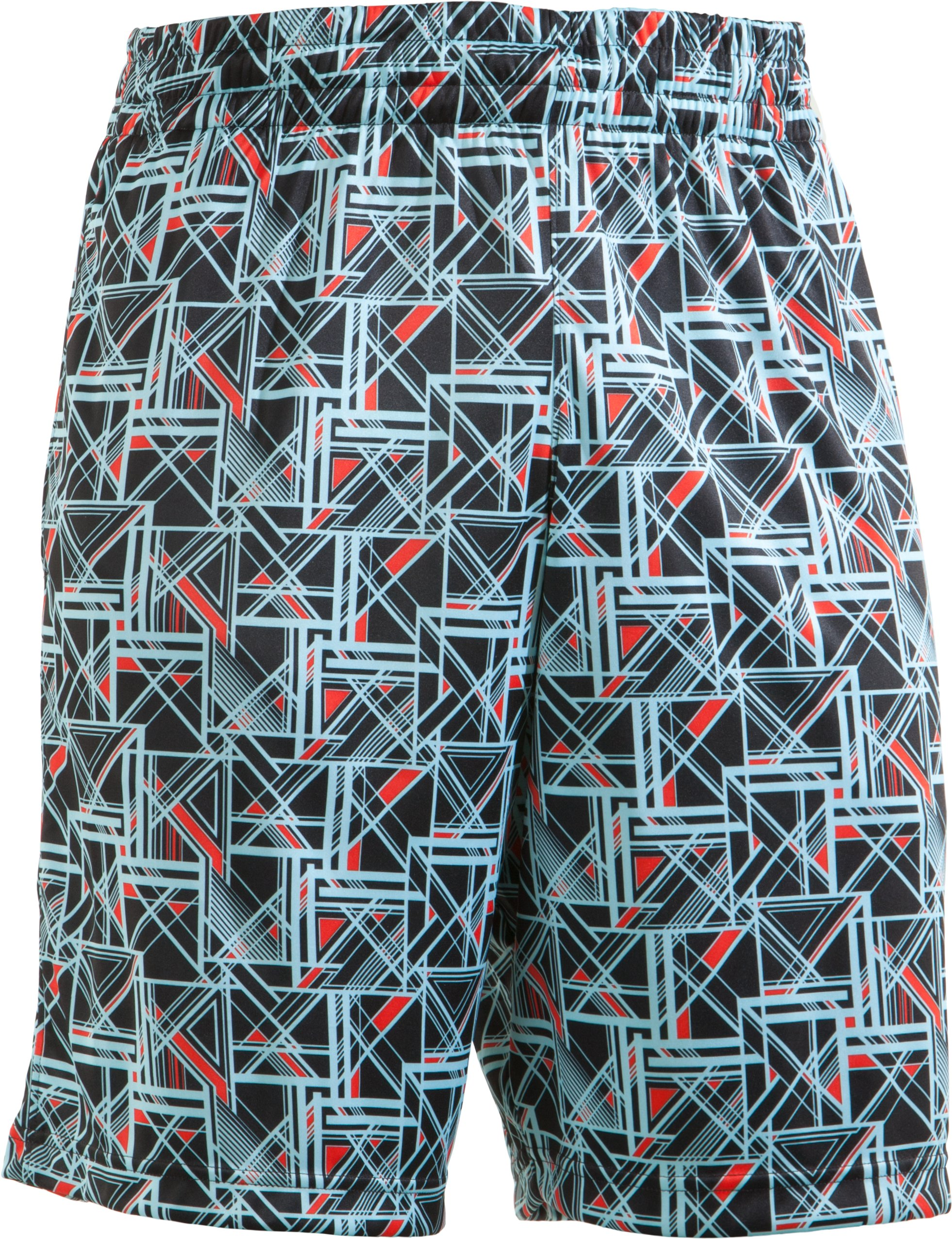 Boys' UA Howie Dewdat Shorts, Black , zoomed image