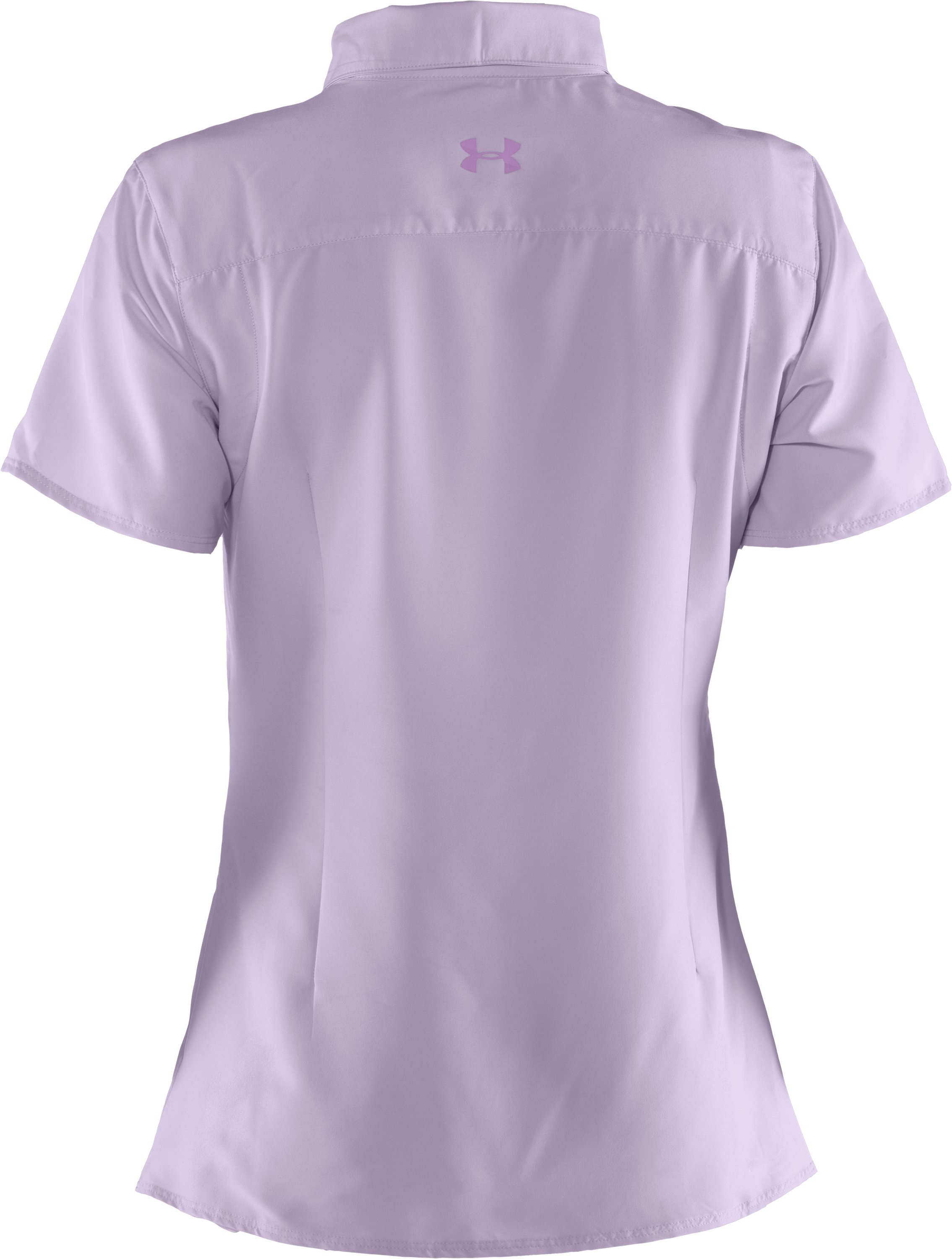 Women's UA Sedna Short Sleeve, Iris, undefined