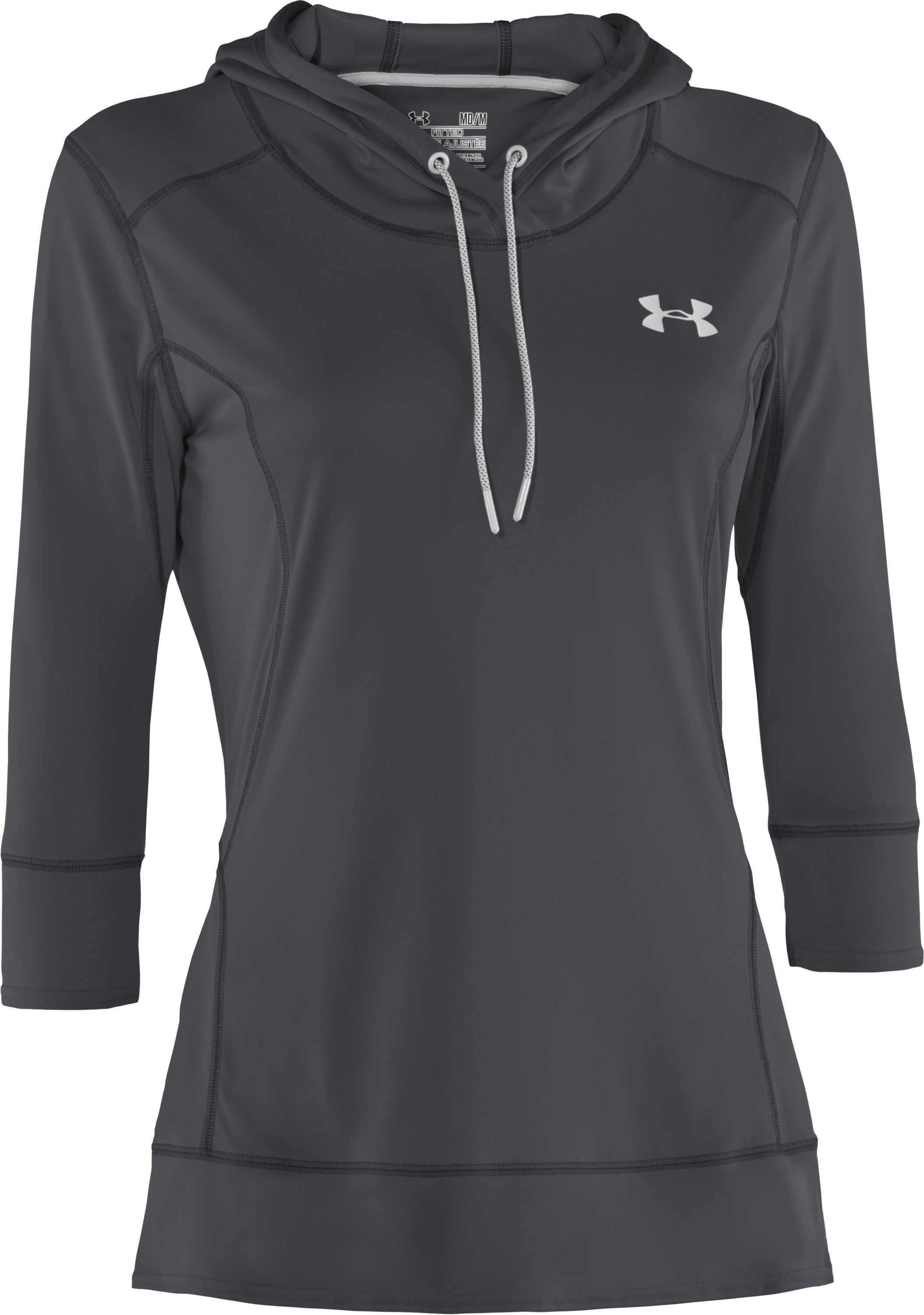 Women's UA ArmourGuard Hoodie, Lead, undefined