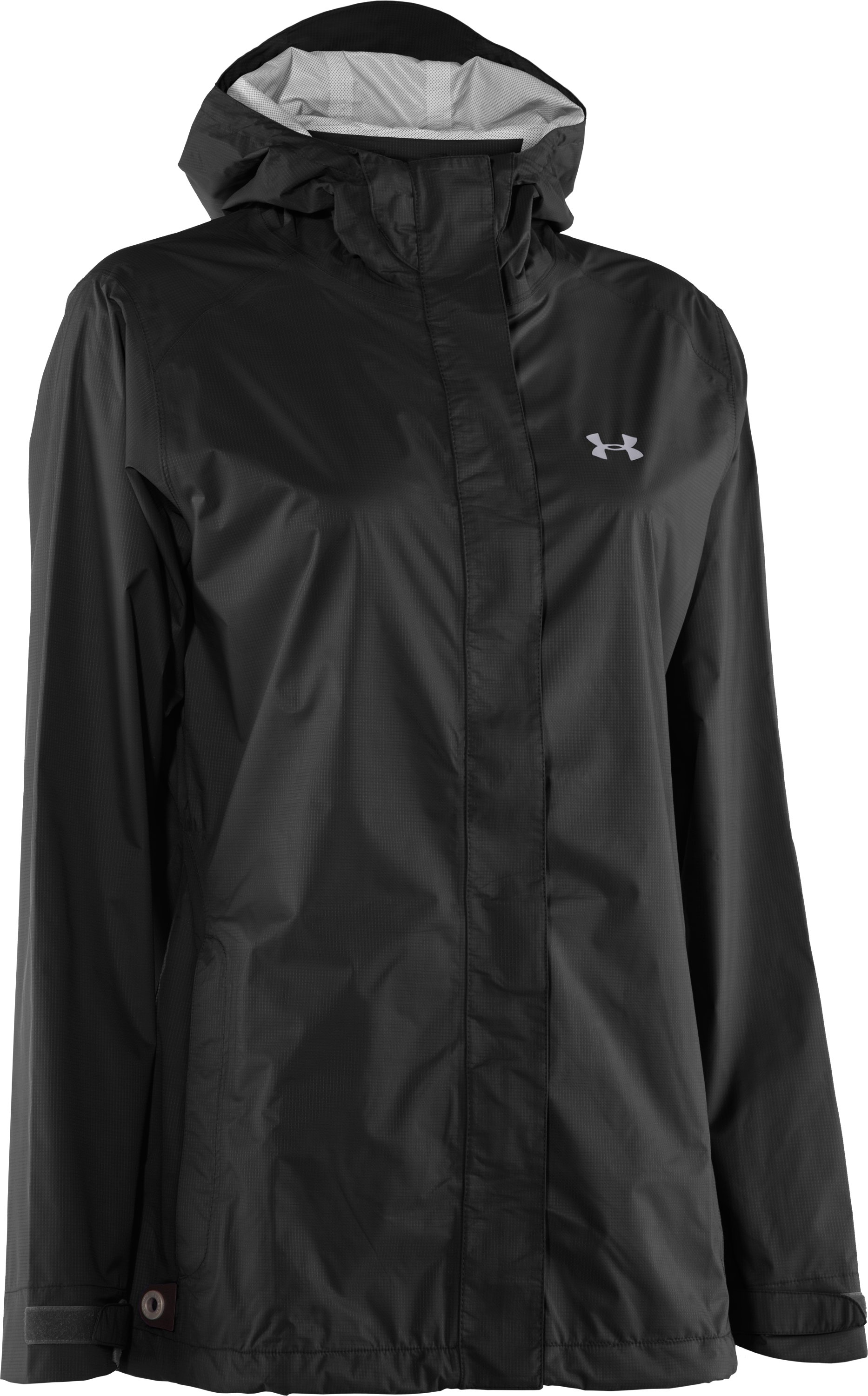 Women's UA Stormfront Jacket, Black