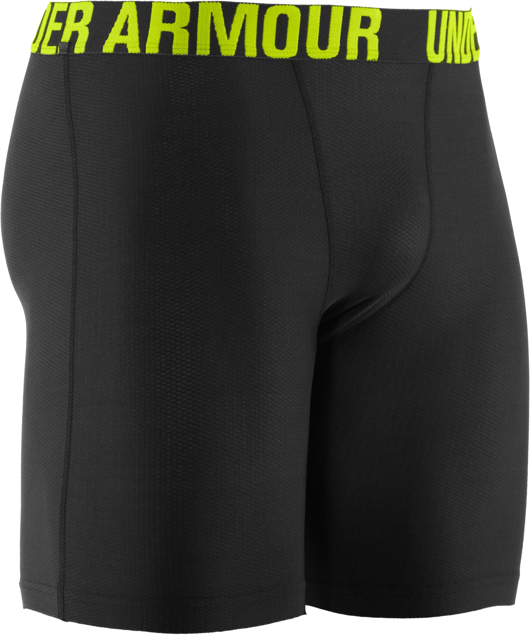 Men's UA Proraid Compression Shorts, Black , undefined