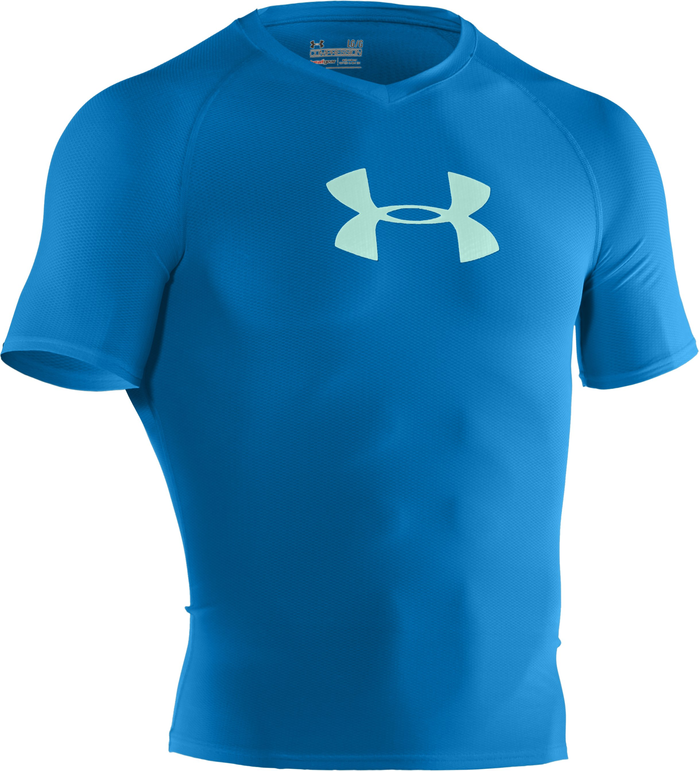 Men's UA Keewaydin Rash Guard, St. Tropez