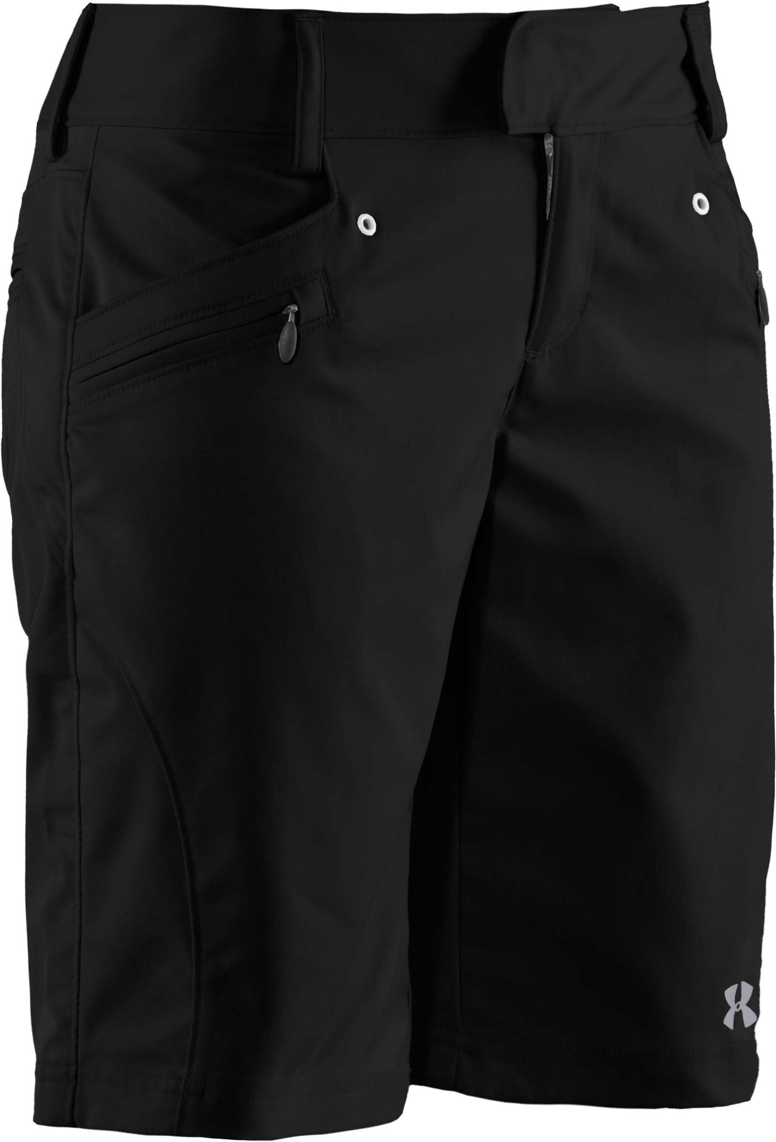 Women's UA Tellervo Walking Shorts, Black , undefined
