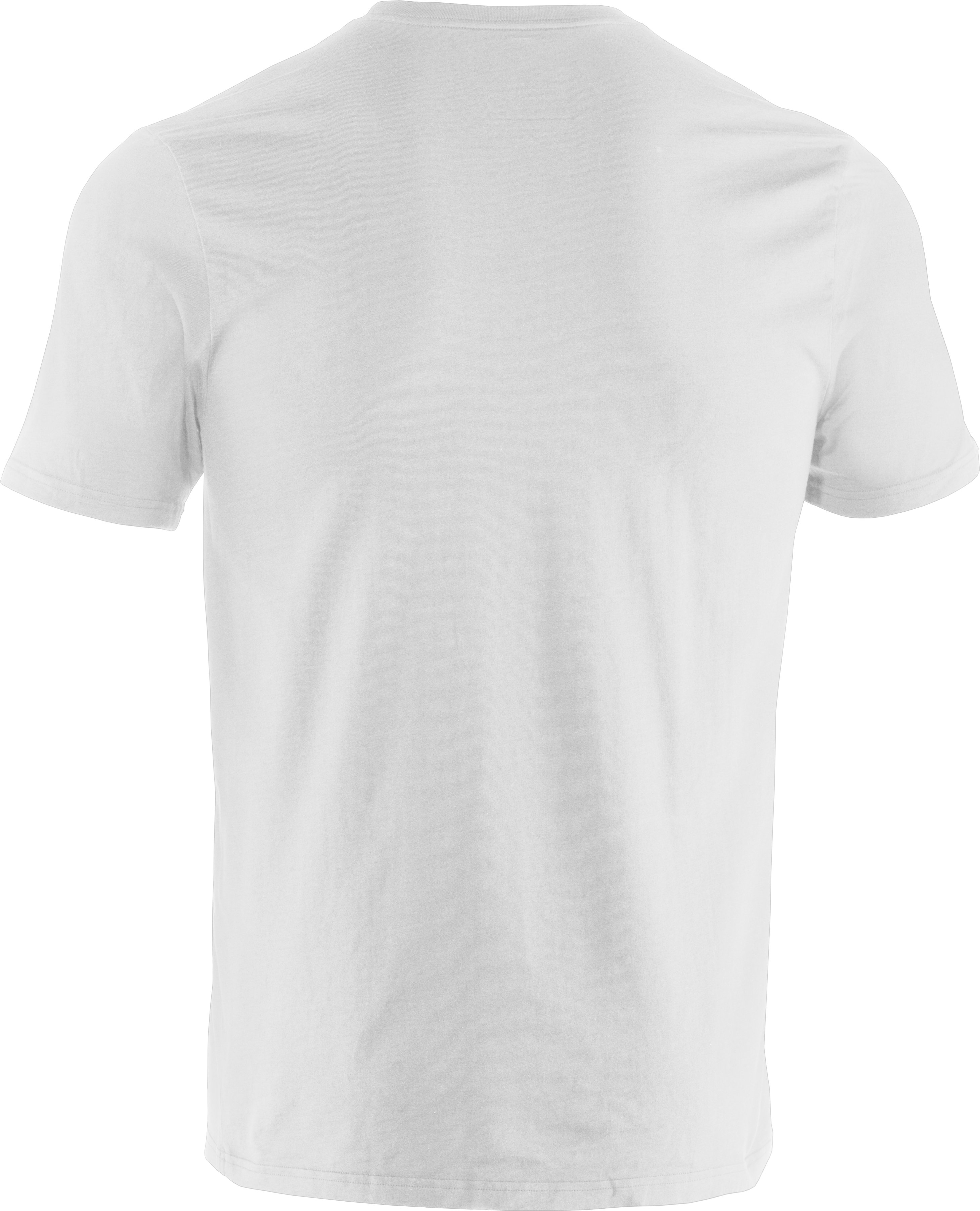 Men's UA Hook Wordmark T-Shirt, White
