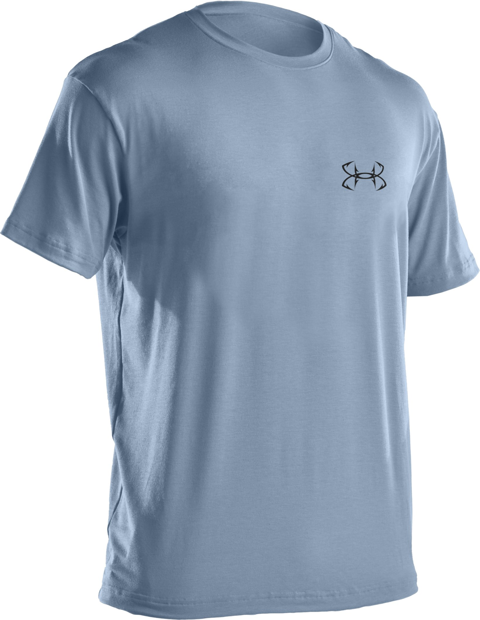 Men's UA Armoured™ Trifecta T-Shirt, Cirrus Blue
