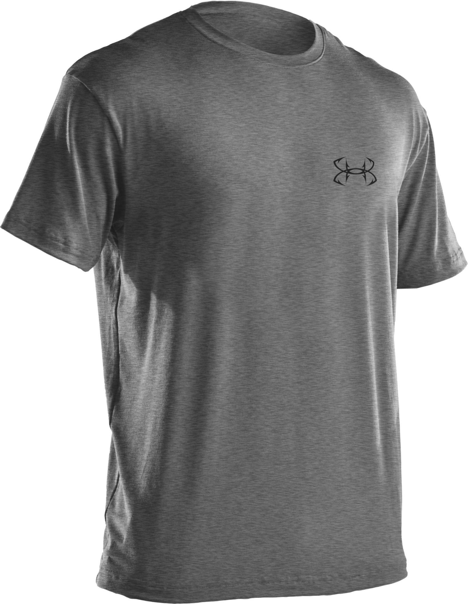 Men's UA Armoured™ Marlin T-Shirt, True Gray Heather, undefined