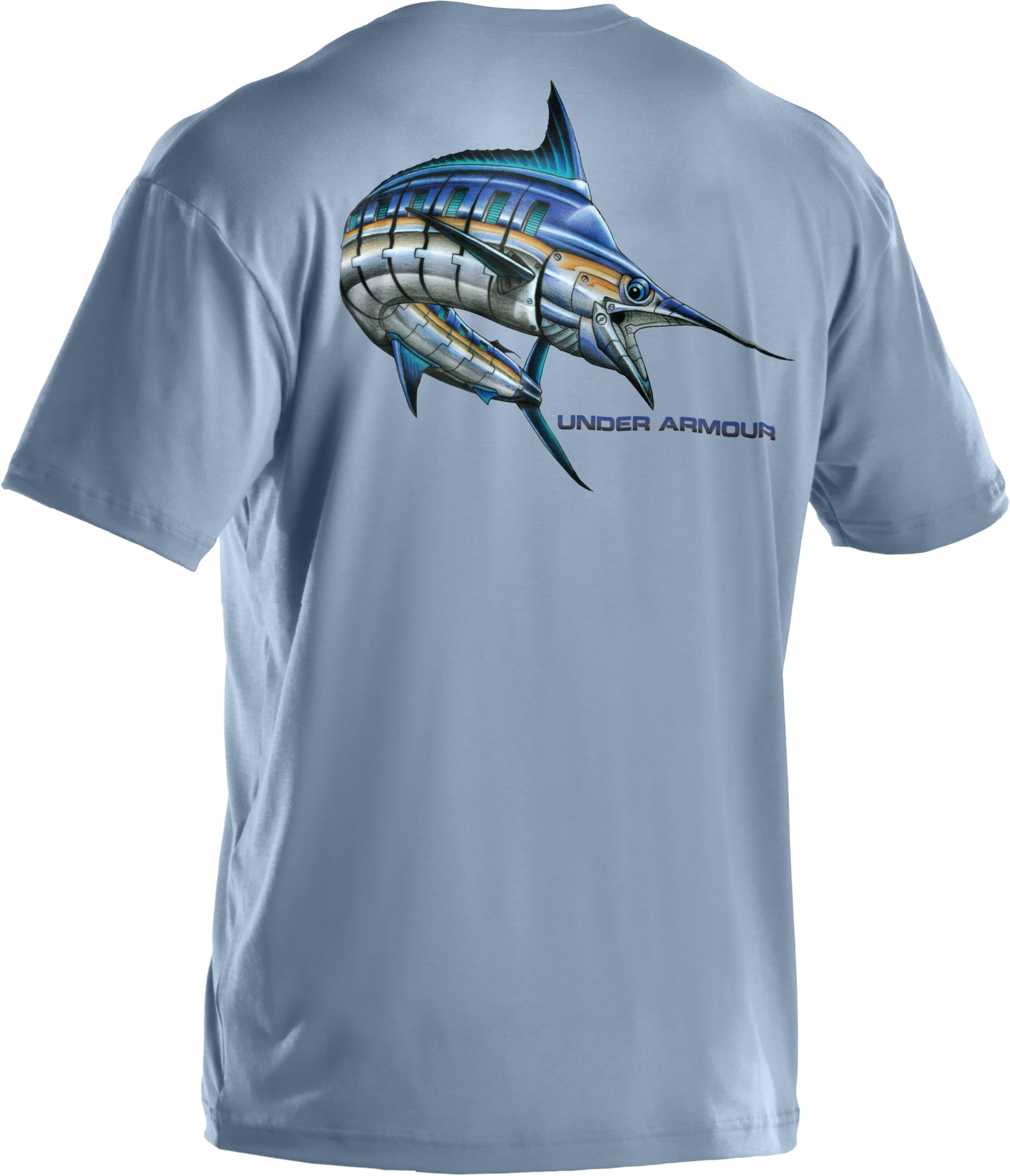 Men's UA Armoured™ Marlin T-Shirt, Cirrus Blue