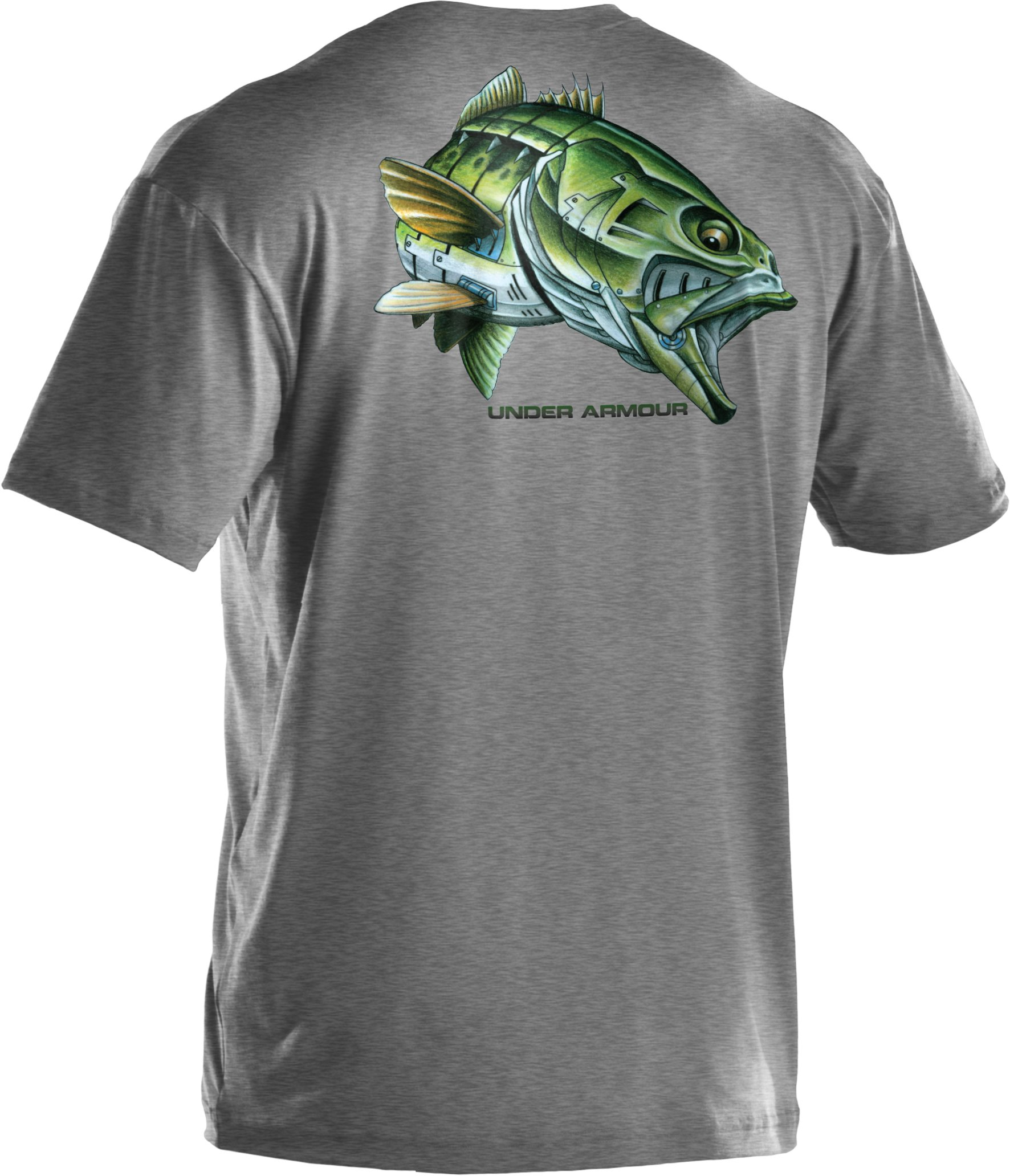 Men's UA Armoured™ Bass T-Shirt, True Gray Heather