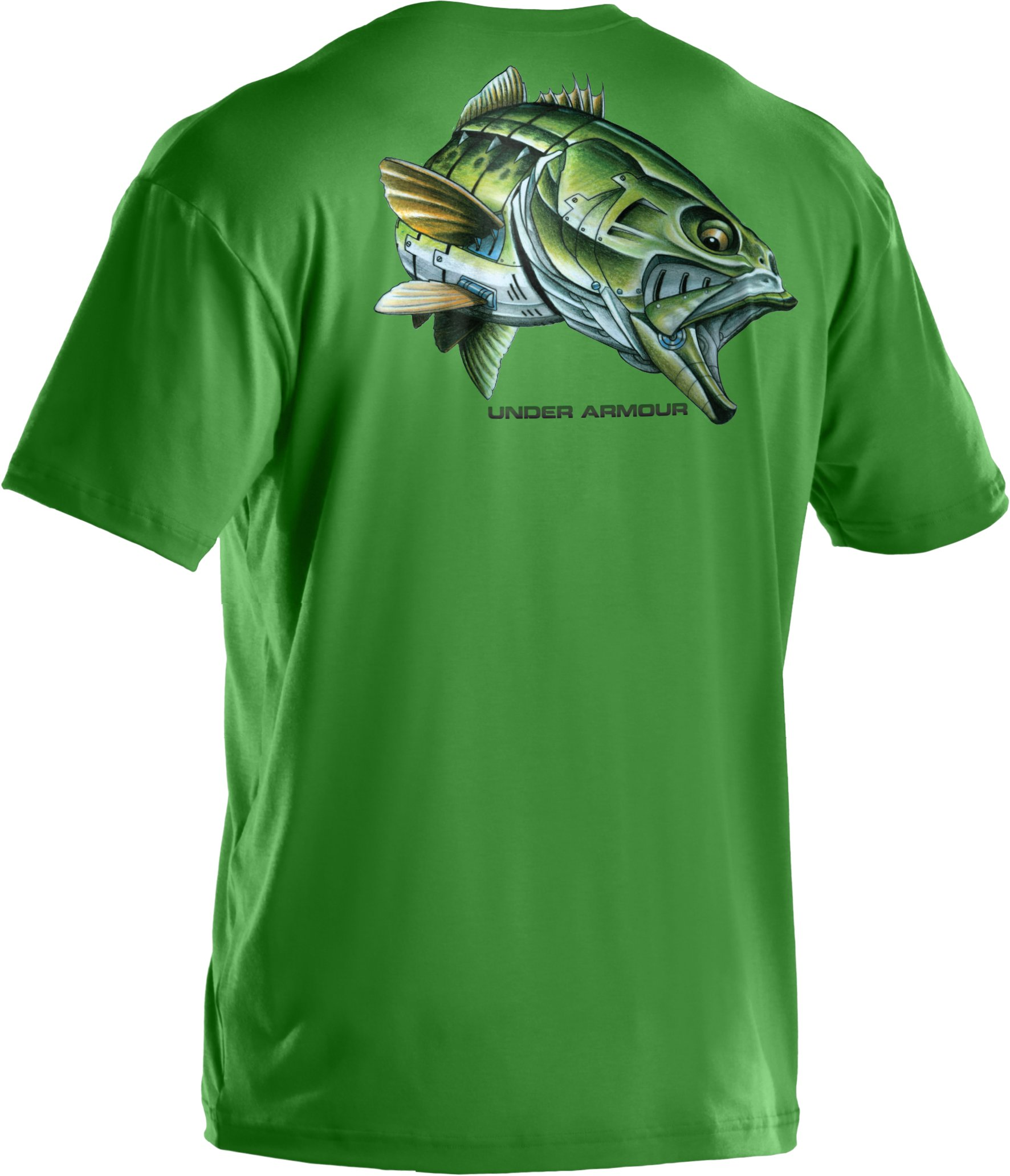 Men's UA Armoured™ Bass T-Shirt, MALLARD