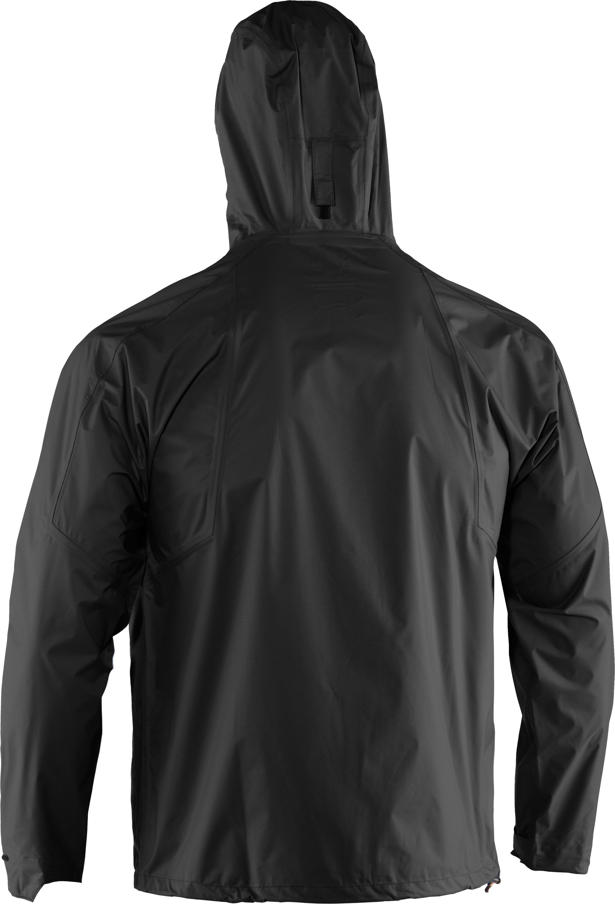 Men's UA StormFront Jacket, Black ,
