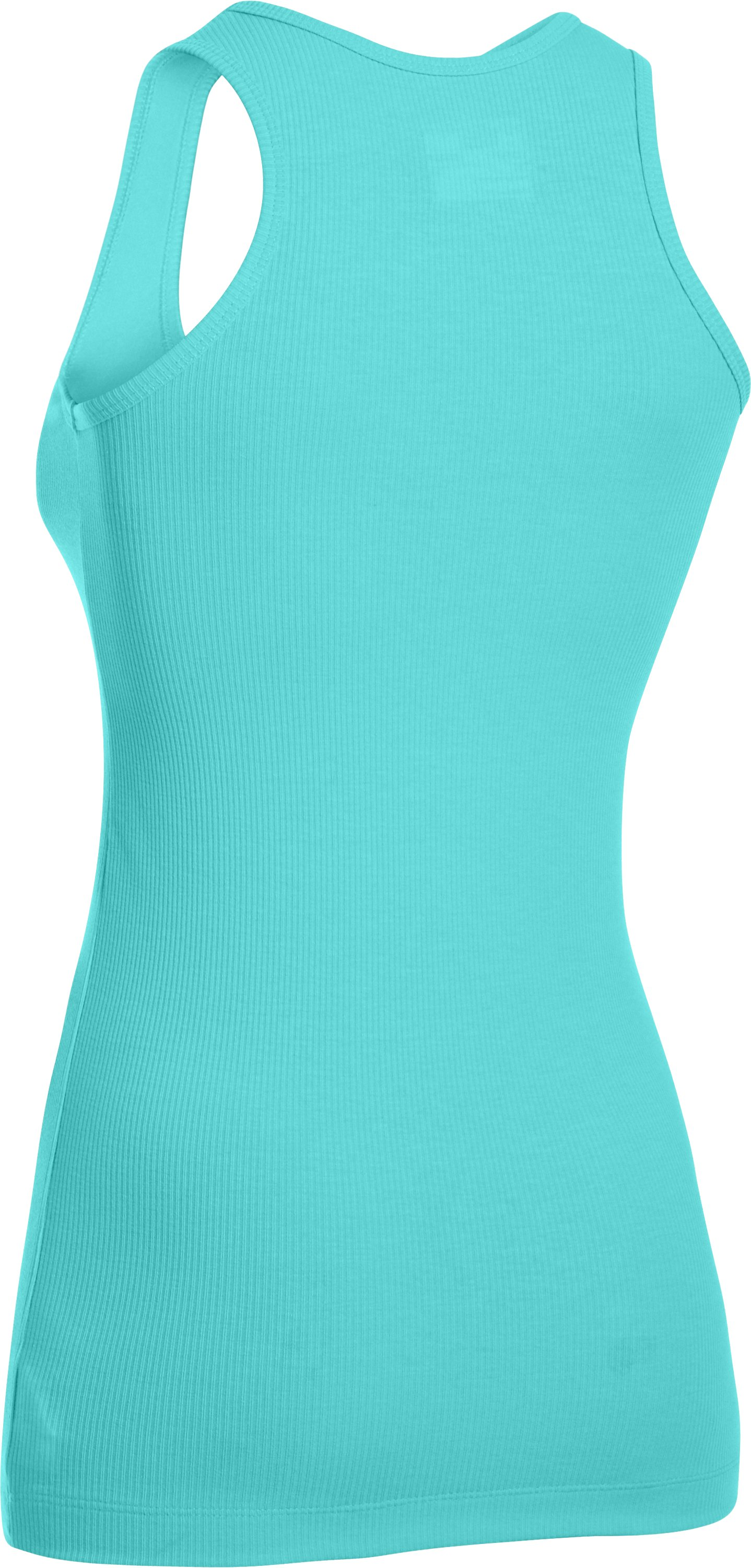 Women's North Star Rib Tank, TROPICAL TIDE