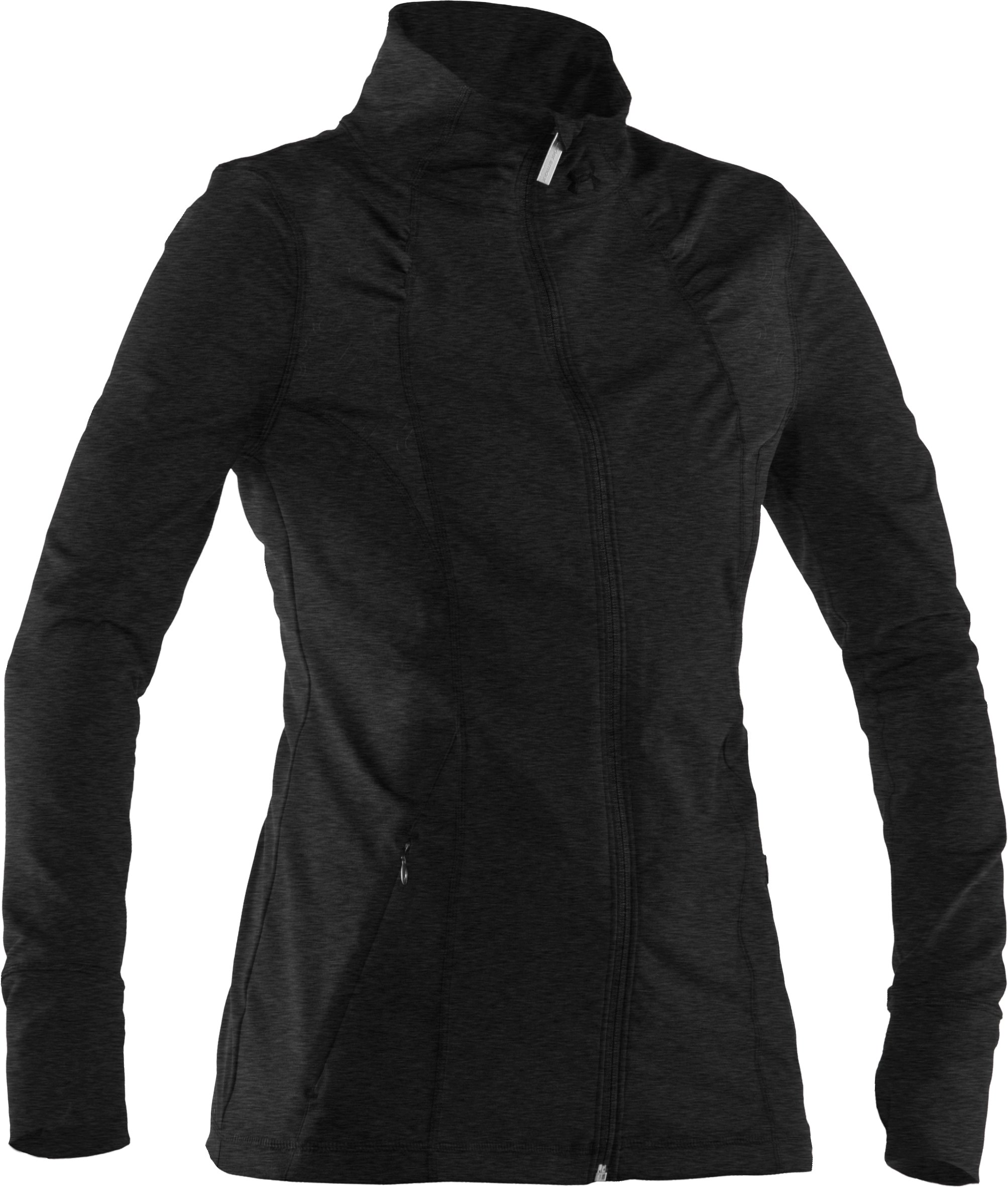 Women's UA StudioLux® Jacket, Asphalt Heather