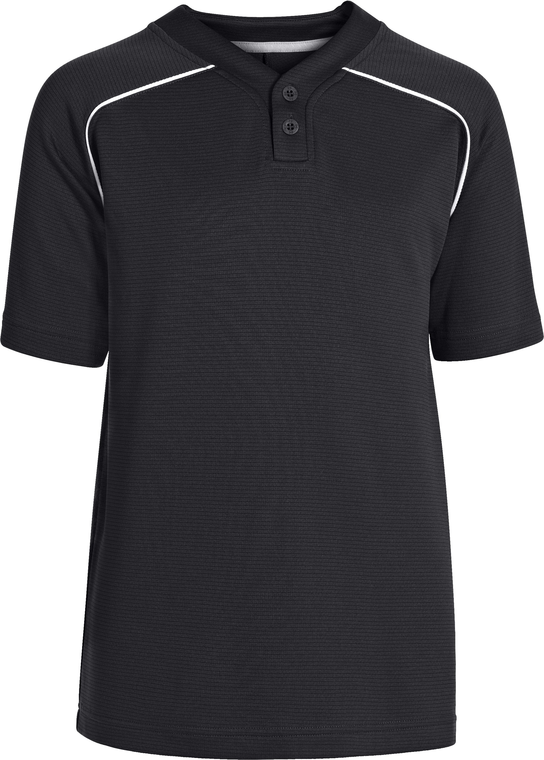 Boys' UA Landsdown II Baseball Jersey, Black