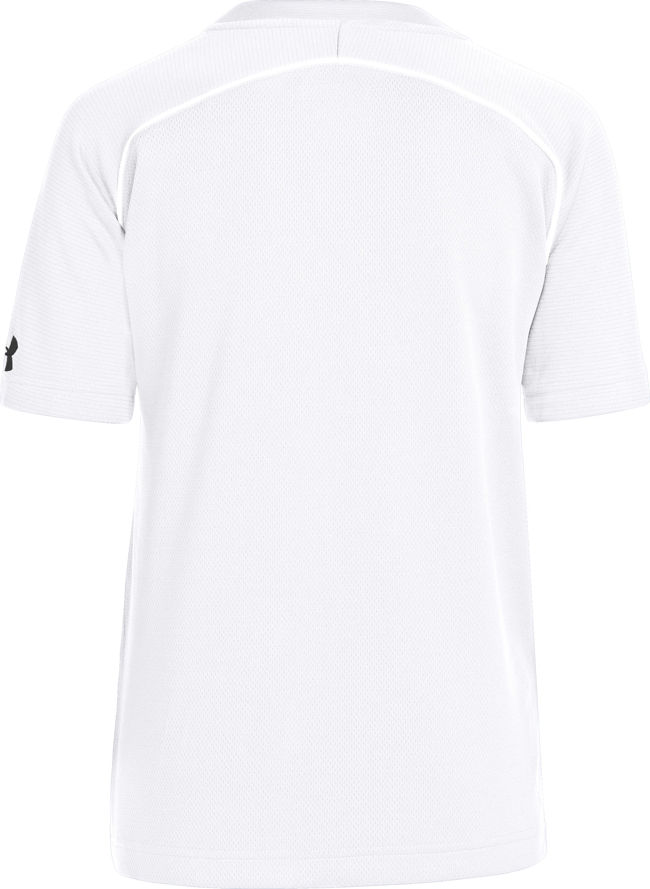 Boys' UA Landsdown II Baseball Jersey, White