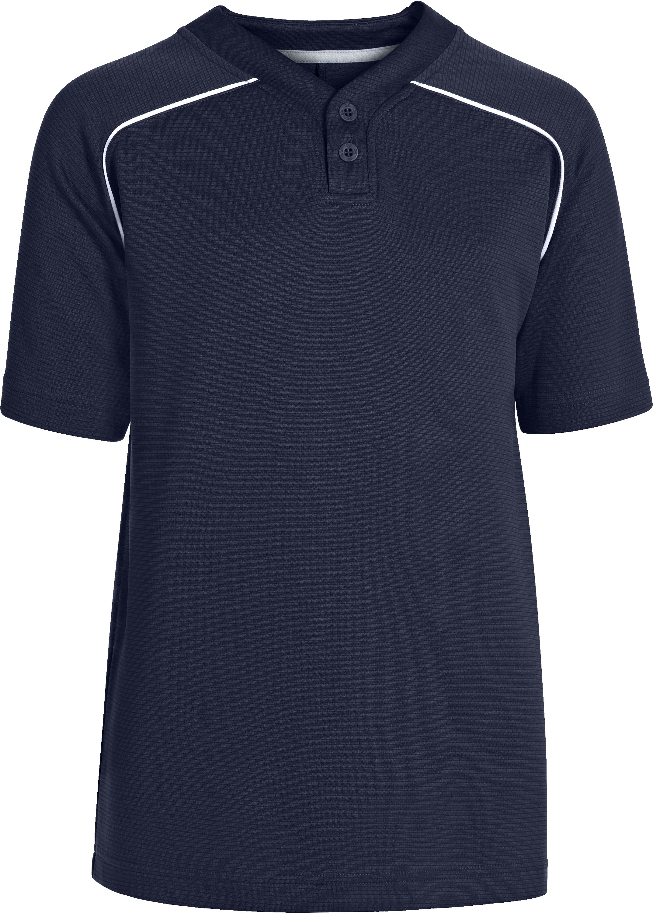 Boys' UA Landsdown II Baseball Jersey, Midnight Navy, zoomed image