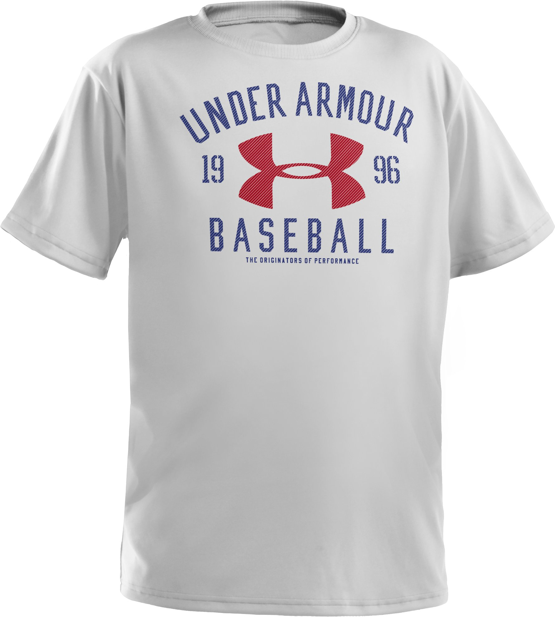 Boys' UA Future Collegiate T-Shirt, White, zoomed image