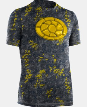 Boys' UA Brushback Short Sleeve  1 Color $26.99