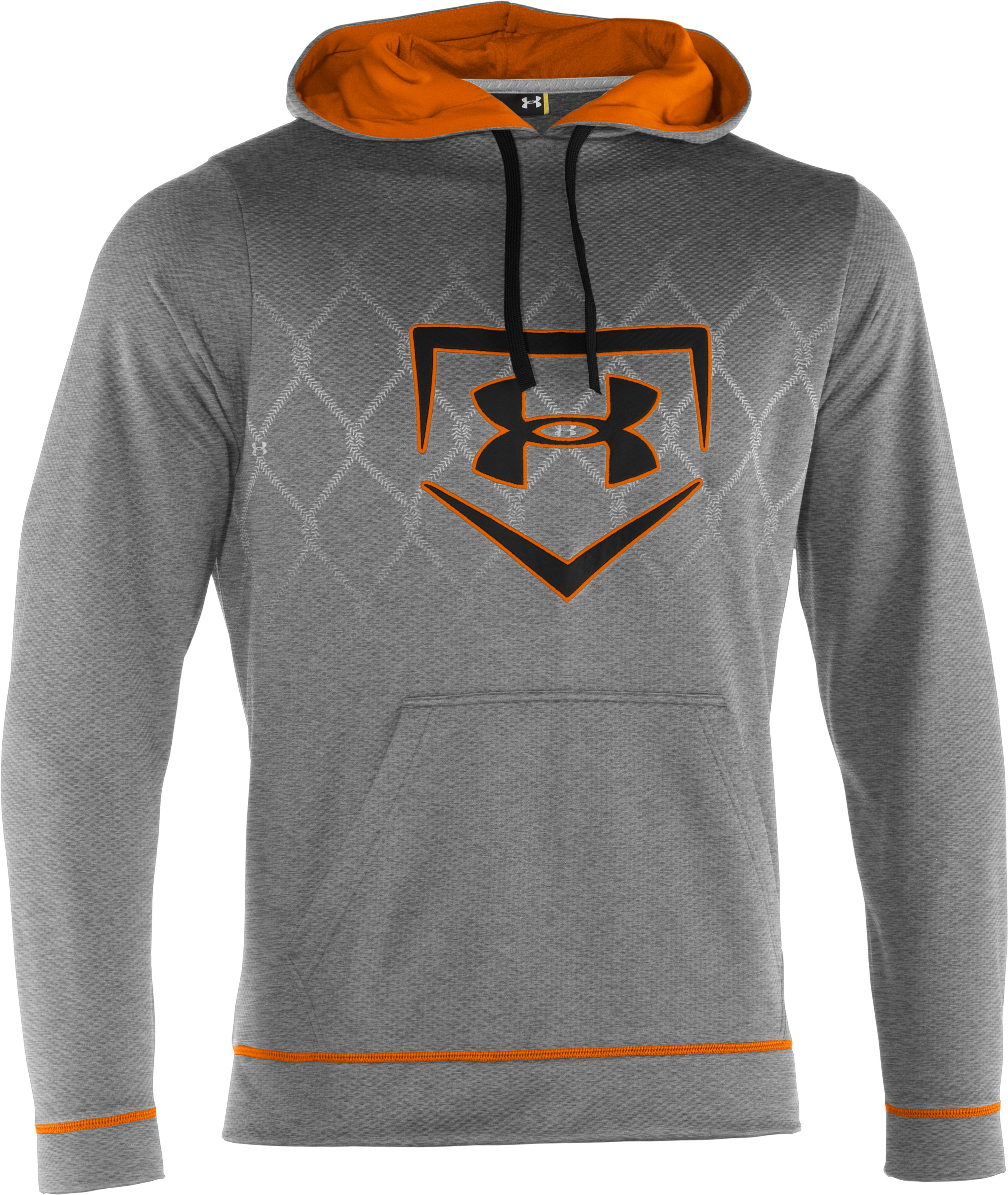 Men's UA CTG Chain Link Hoodie, True Gray Heather