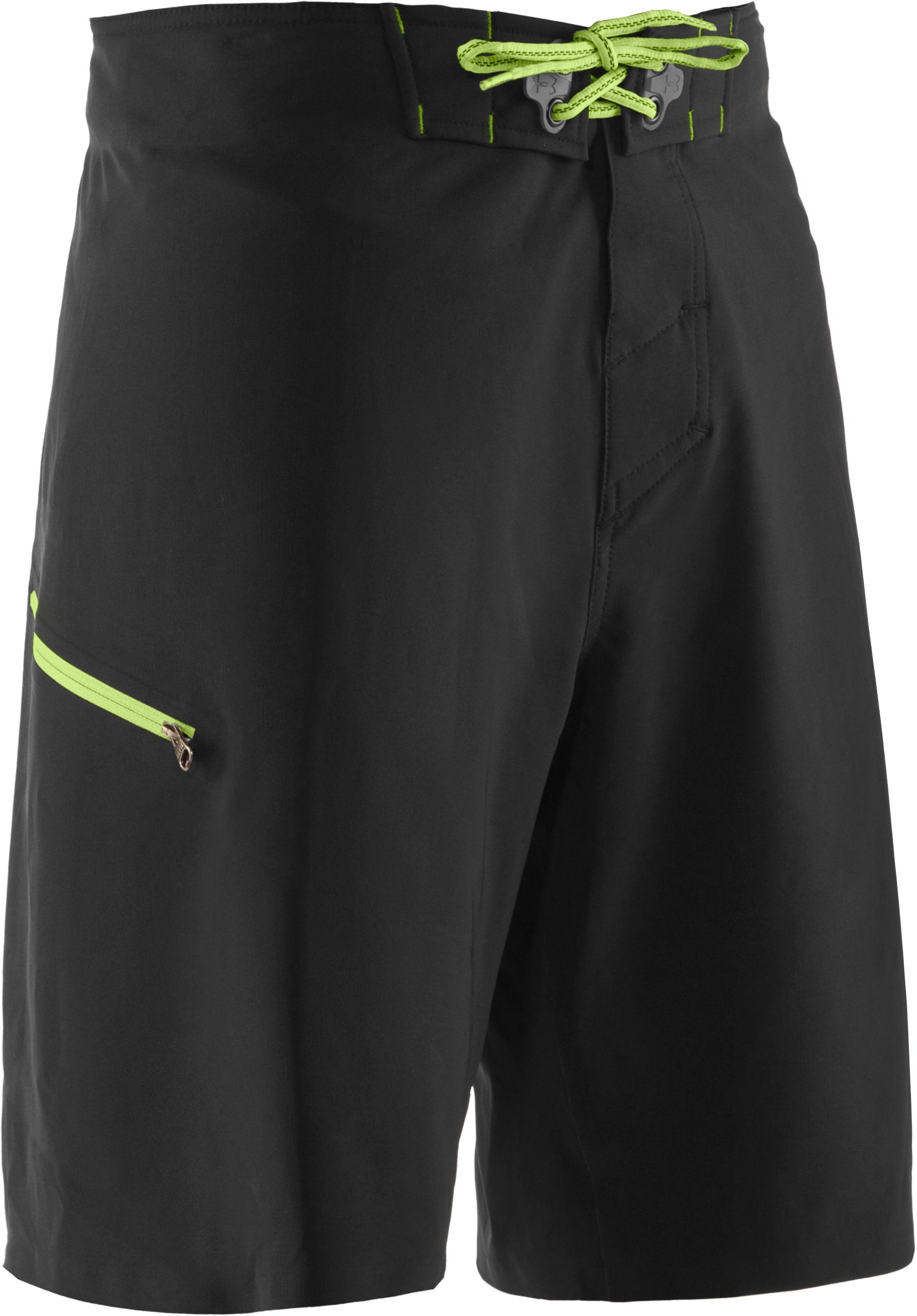 Men's UA Grovepoint Board Shorts, Black , undefined
