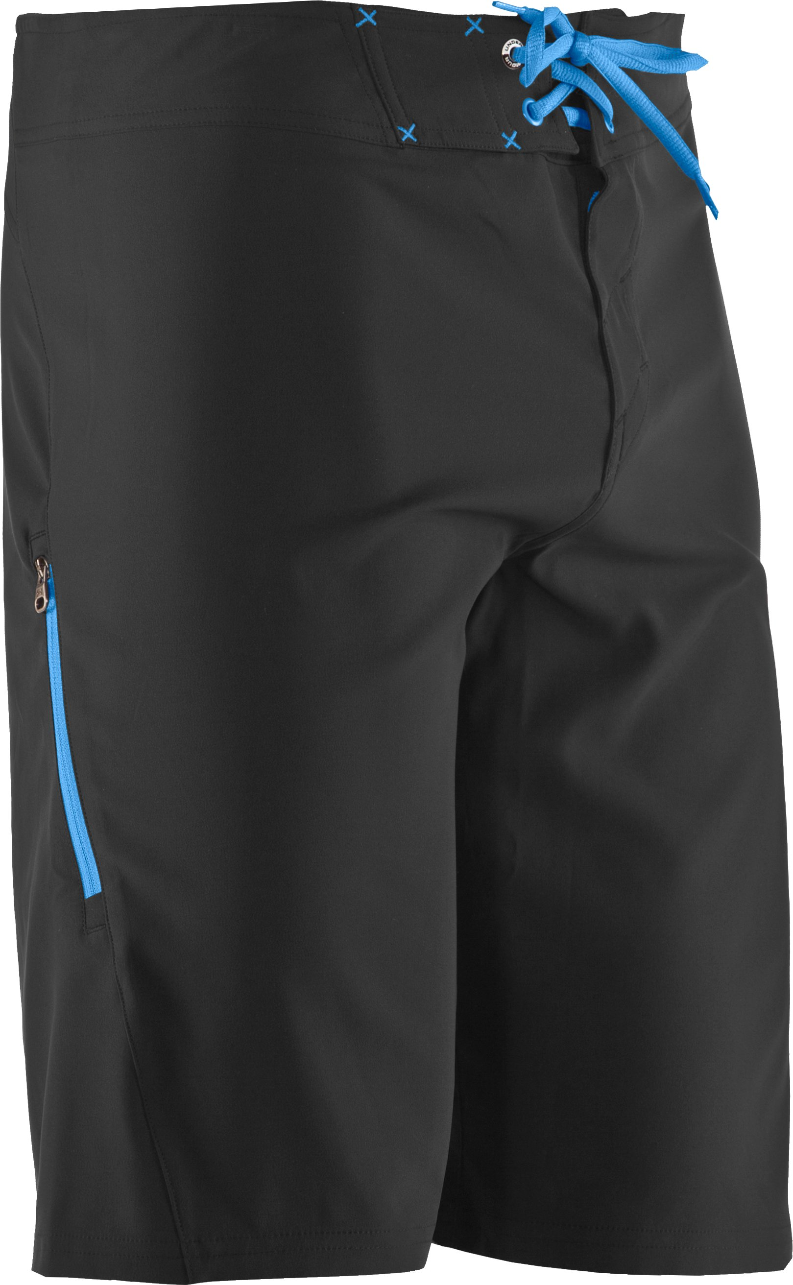 Men's UA Courier Board Shorts, Black