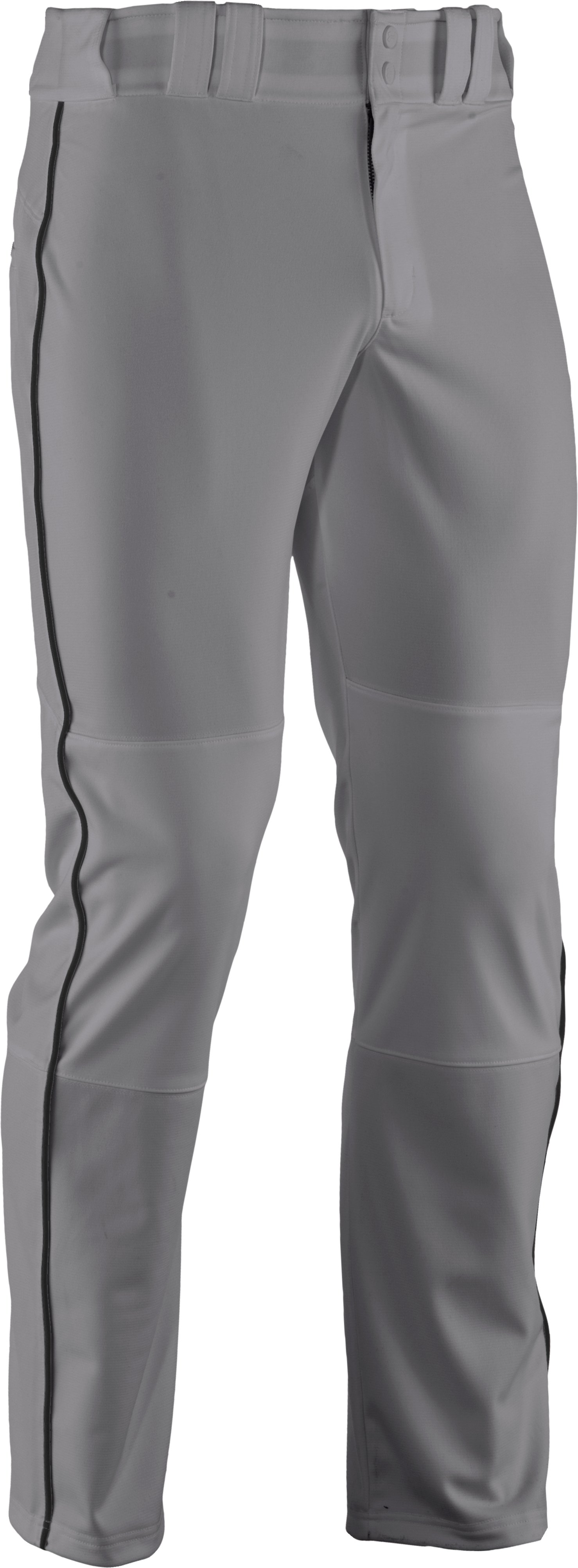 Men's UA Leadoff Piped Baseball Pants, Baseball Gray