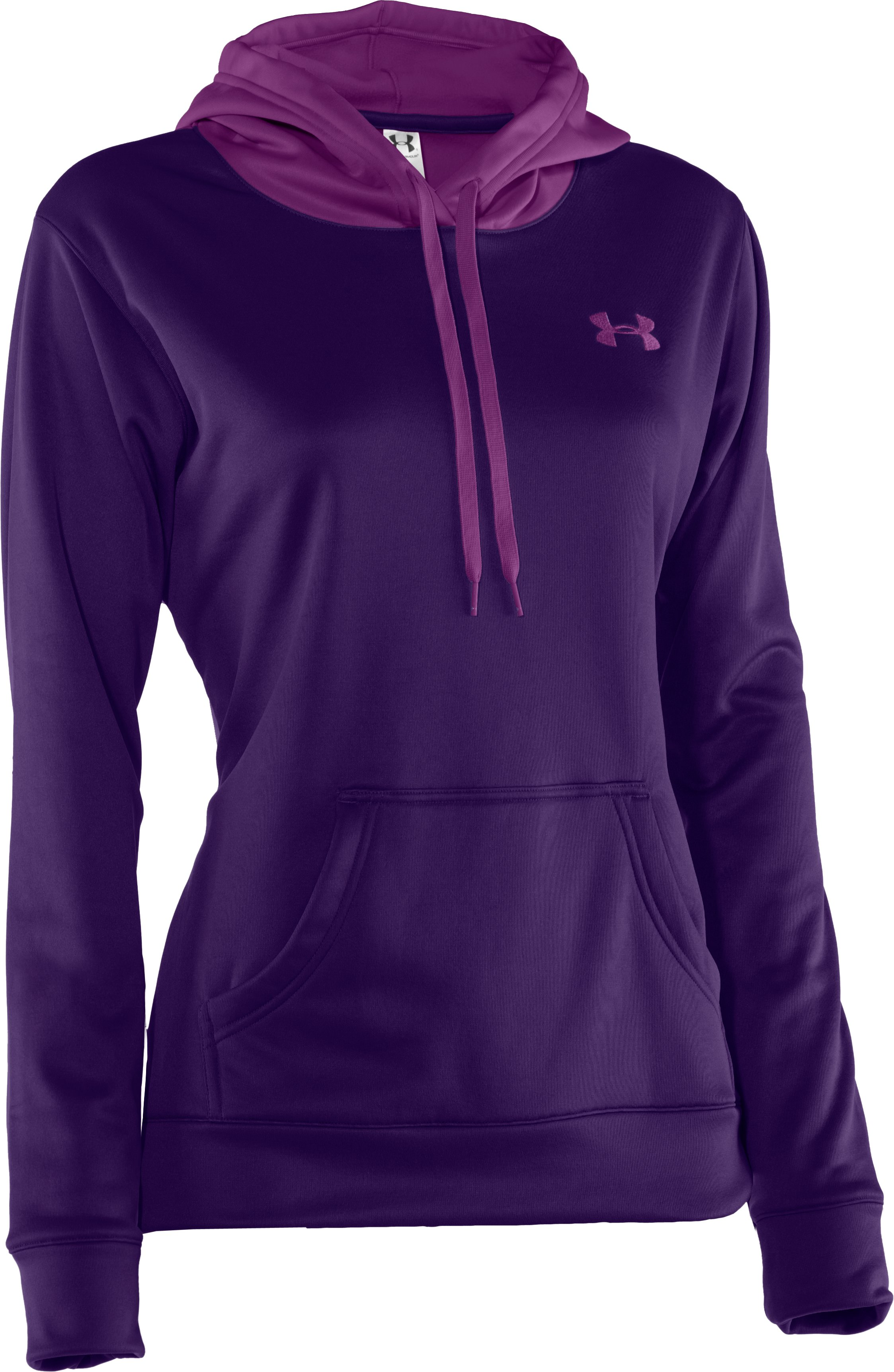 Women's Armour® Fleece Divide Hoodie, Zone,